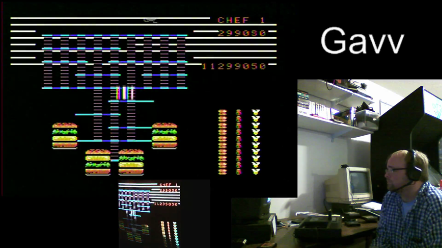 gavv: BurgerTime (Colecovision) 299,050 points on 2014-11-17 21:49:32