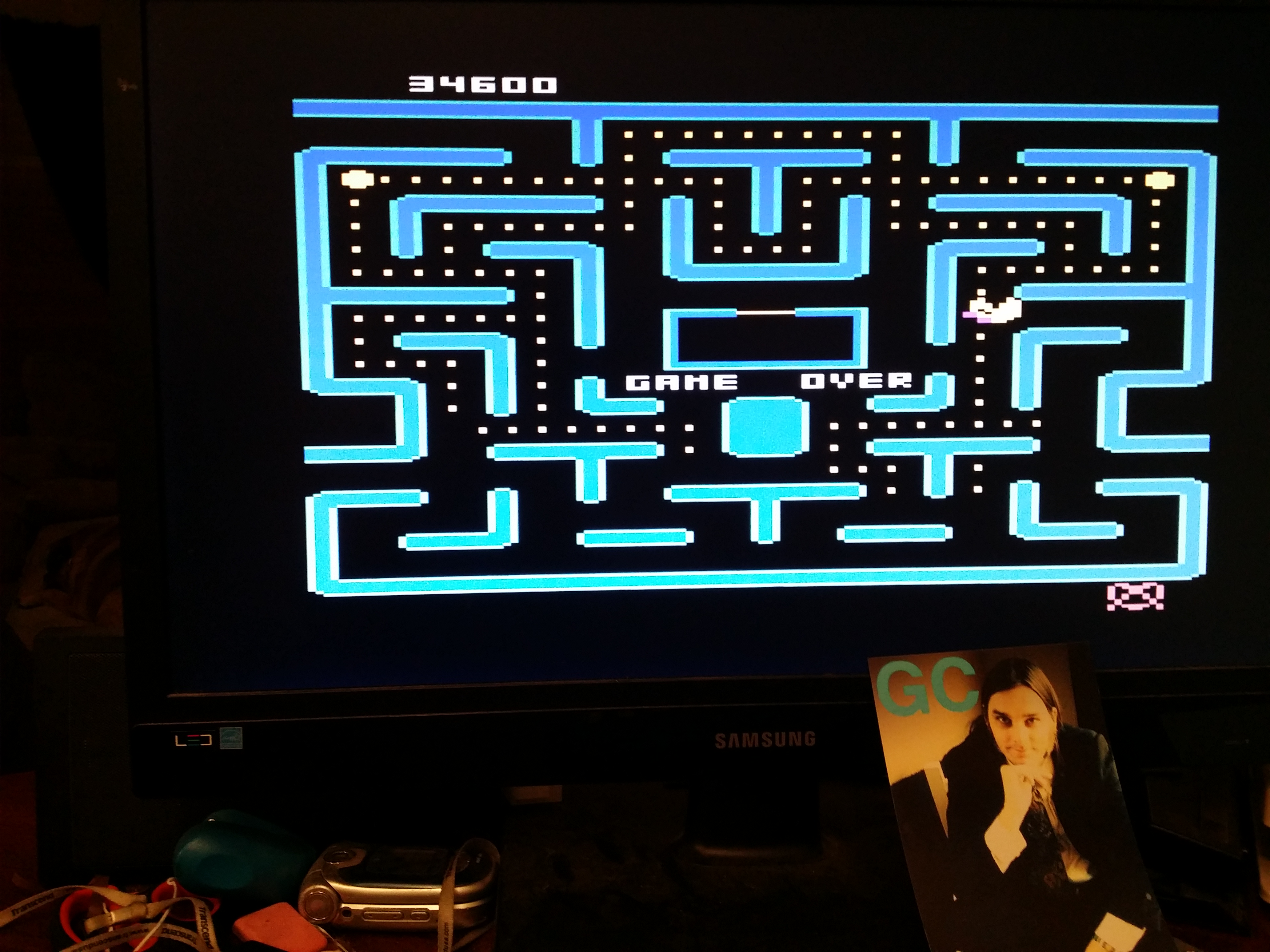 glenncase: Ms. Pac-Man: Cherries Start (Atari 5200 Emulated) 34,600 points on 2014-11-18 01:17:48
