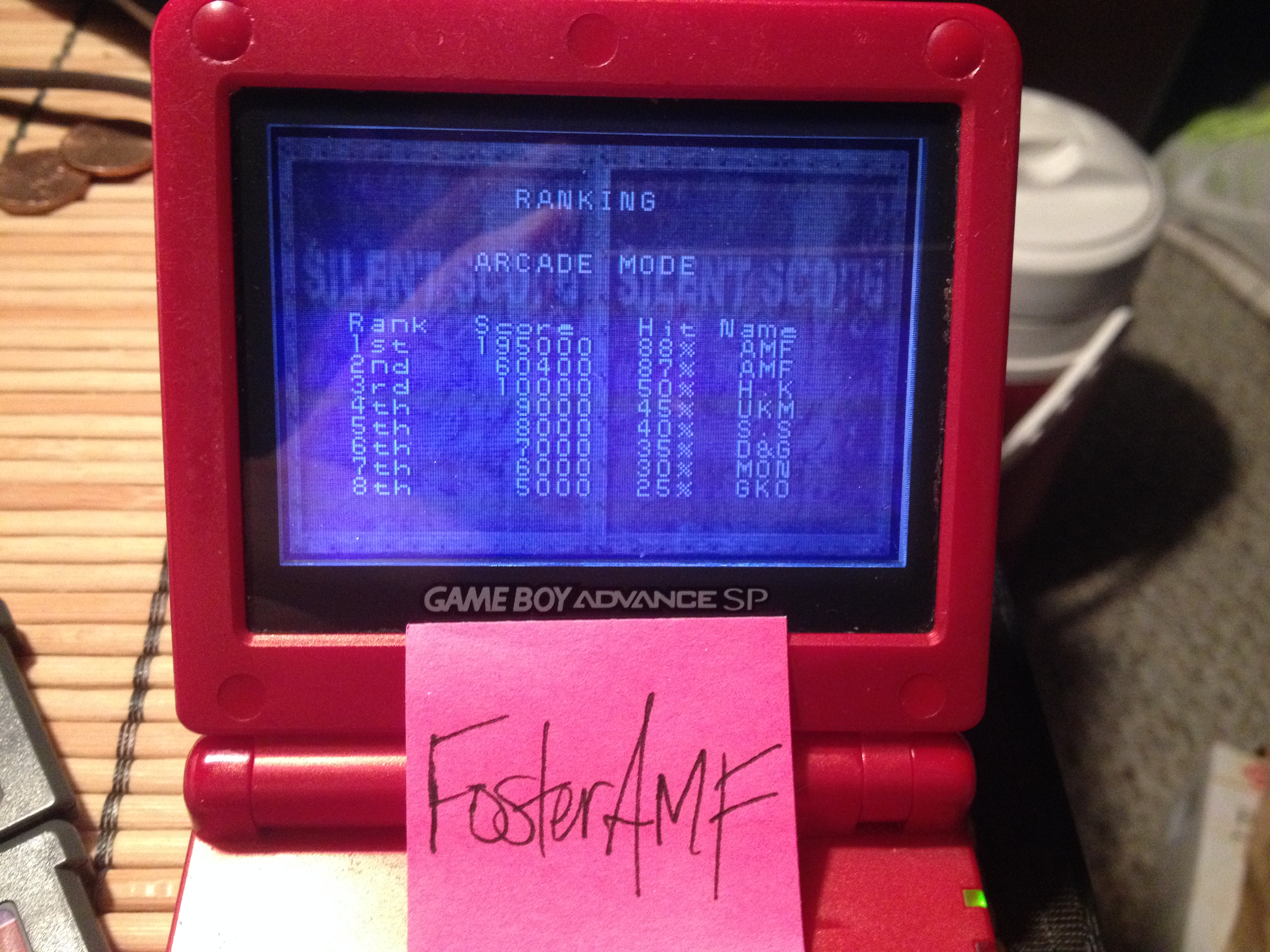 FosterAMF: Silent Scope [Arcade Mode] (GBA) 195,000 points on 2014-11-18 13:45:15