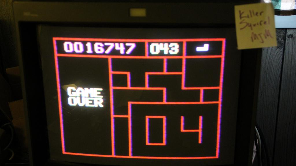 killersquirel: Puzzle Piece Panic! (Odyssey 2 / Videopac) 16,747 points on 2013-10-15 08:24:57