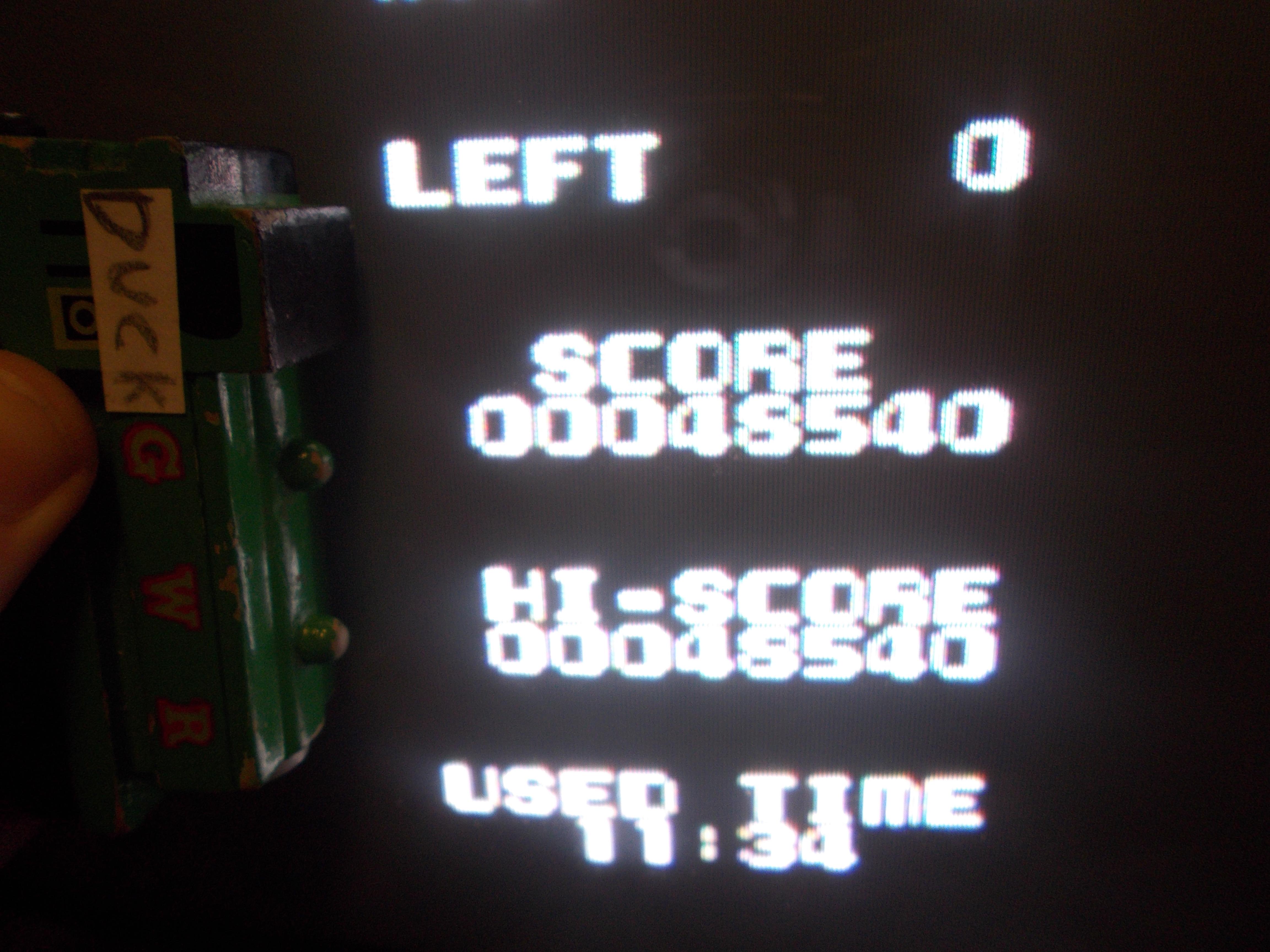 DuckGWR: Dough Boy (NES/Famicom) 48,540 points on 2014-11-19 21:10:19