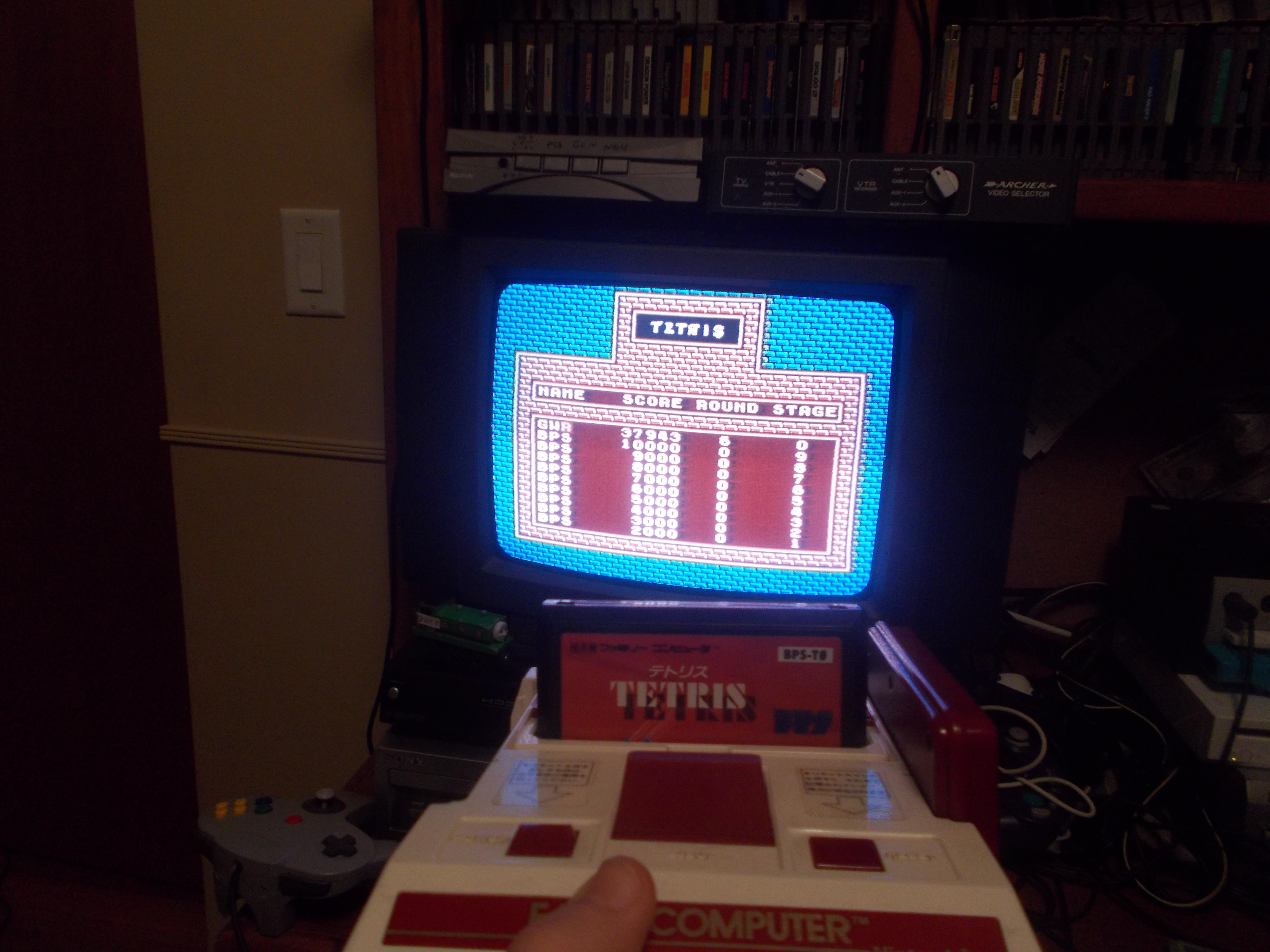 Tetris [BPS] 37,943 points