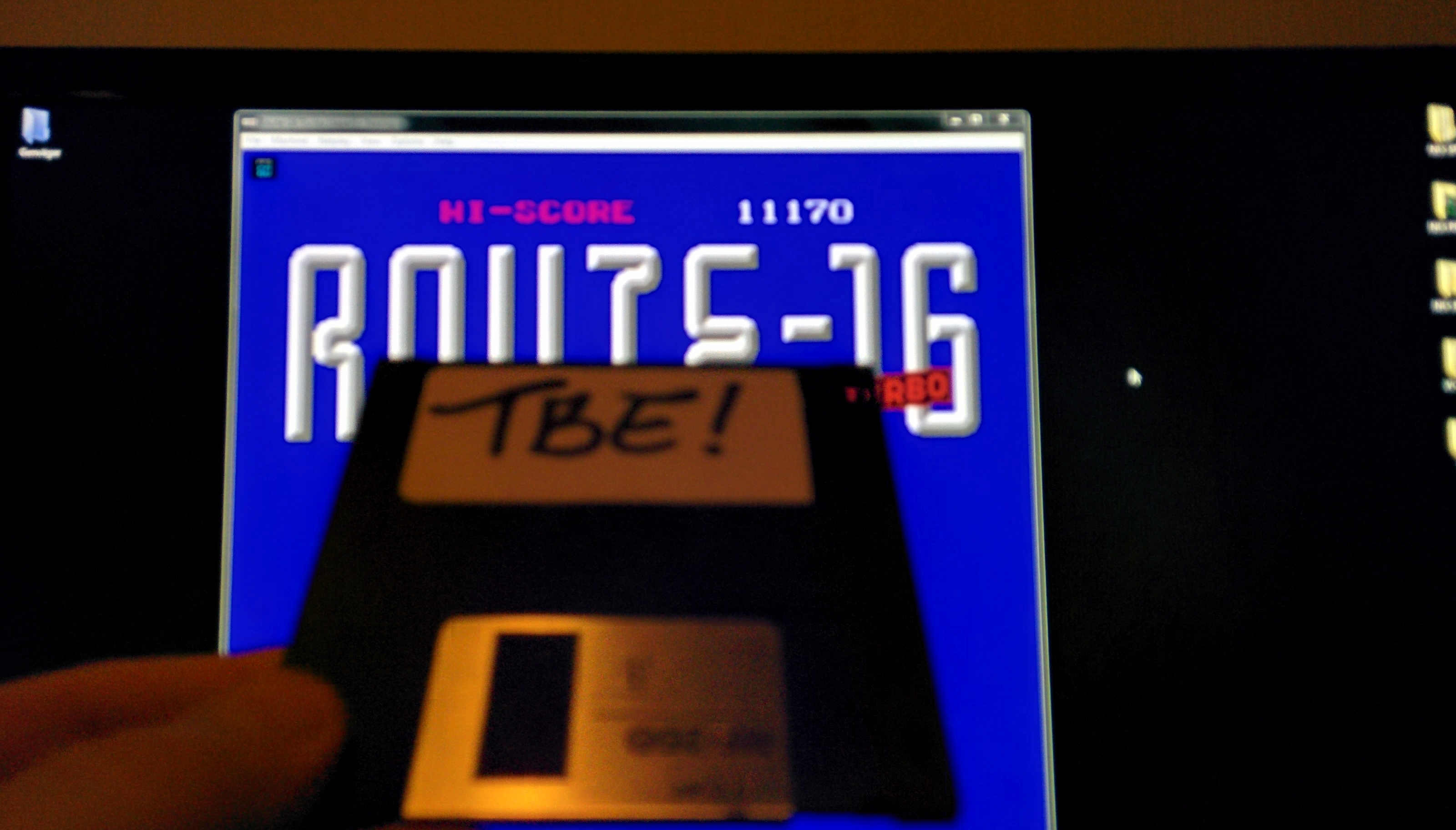 Sixx: Route-16 Turbo (NES/Famicom Emulated) 11,170 points on 2014-11-20 01:40:47