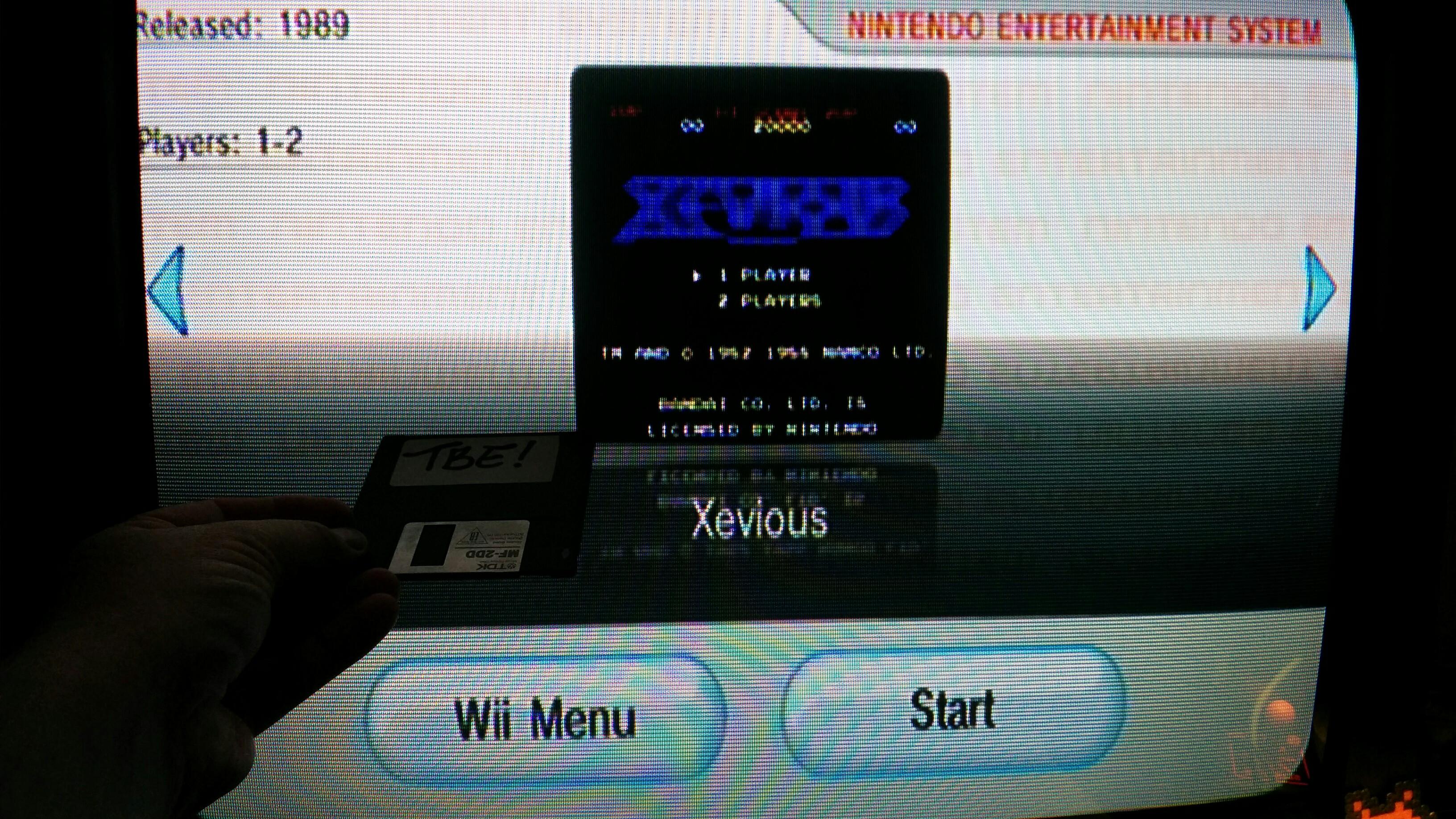 Sixx: Xevious (Wii Virtual Console: NES) 133,520 points on 2014-11-22 14:41:35
