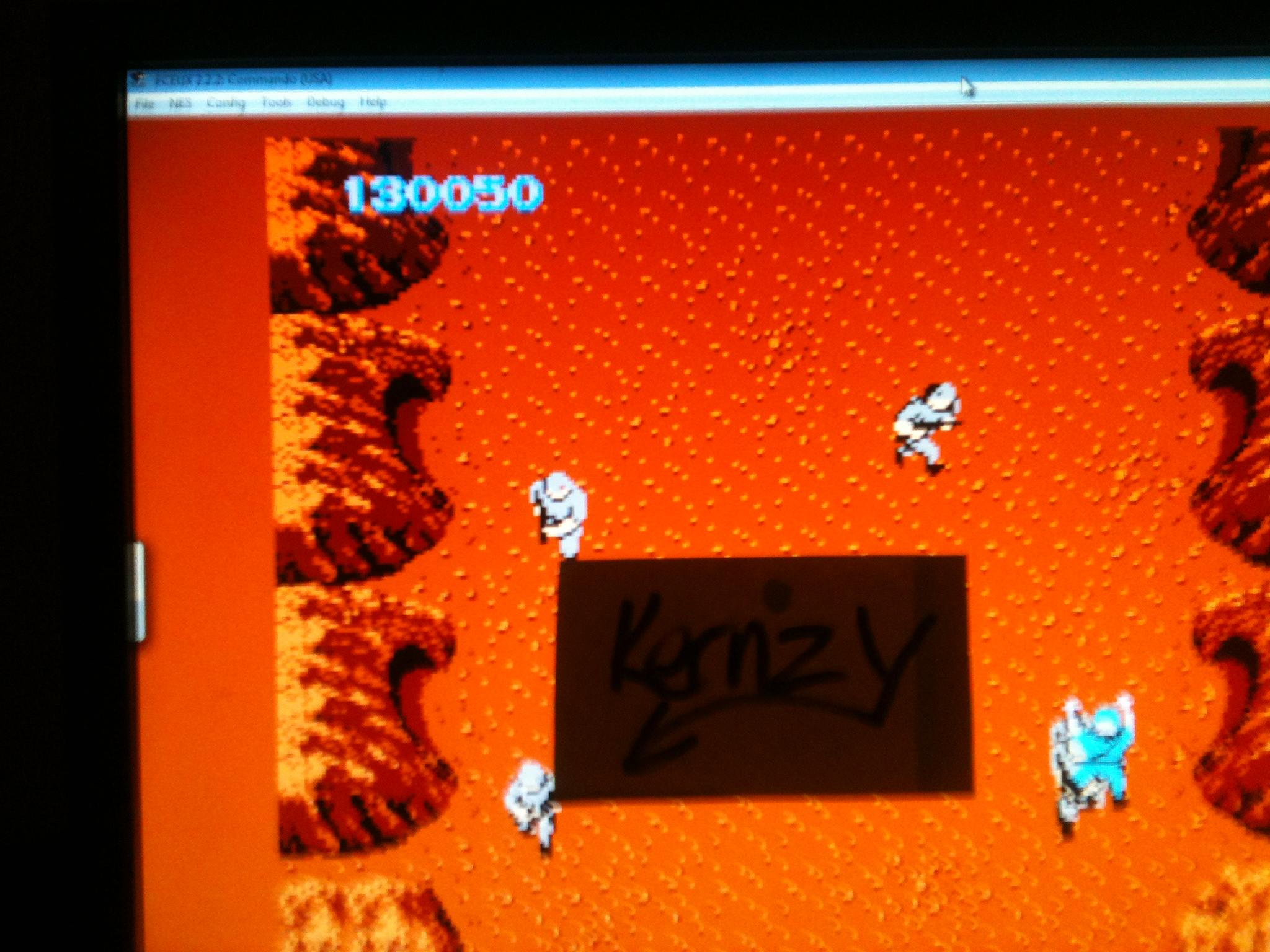kernzy: Commando (NES/Famicom Emulated) 130,050 points on 2014-11-22 18:36:47