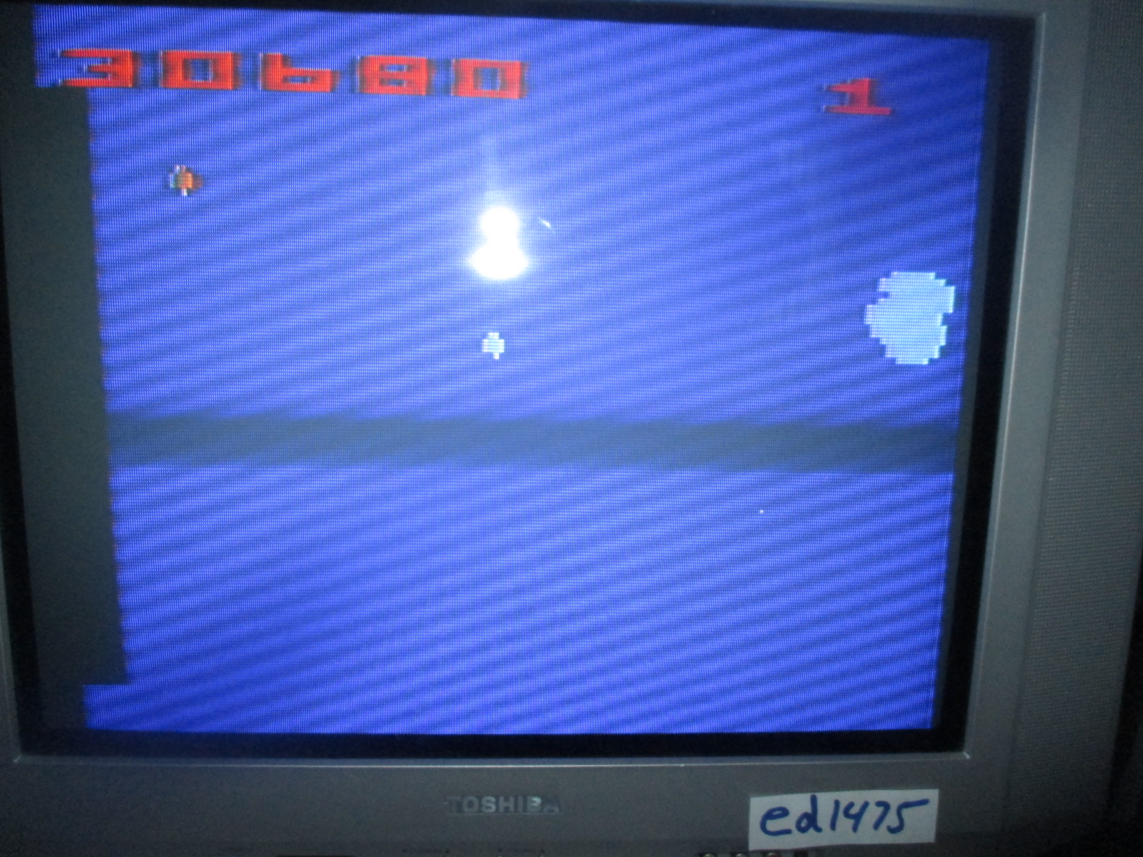 ed1475: Asteroids: Game 4 (Atari 2600 Novice/B) 30,680 points on 2014-11-24 19:40:28