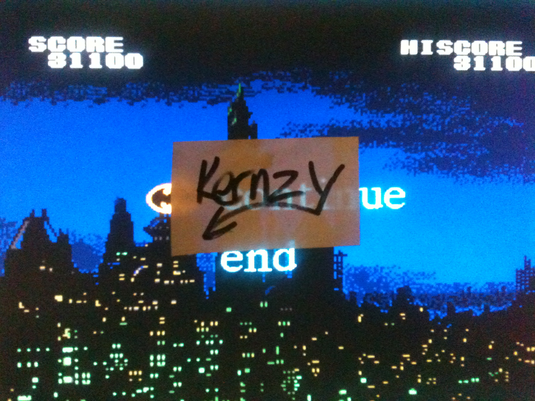 kernzy: Batman (TurboGrafx-16/PC Engine Emulated) 31,100 points on 2014-11-25 07:33:13