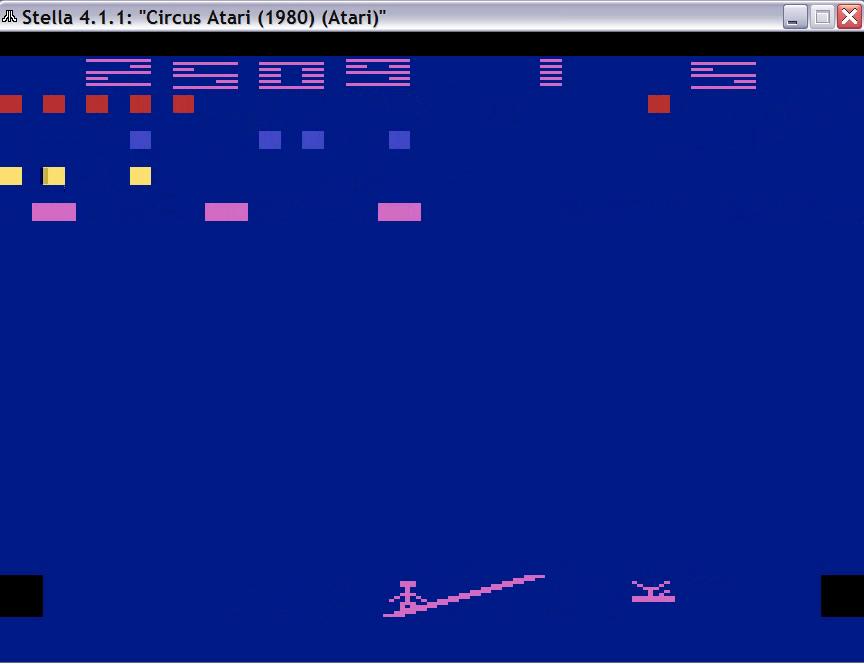 Circus Atari: Game 6 2,509 points
