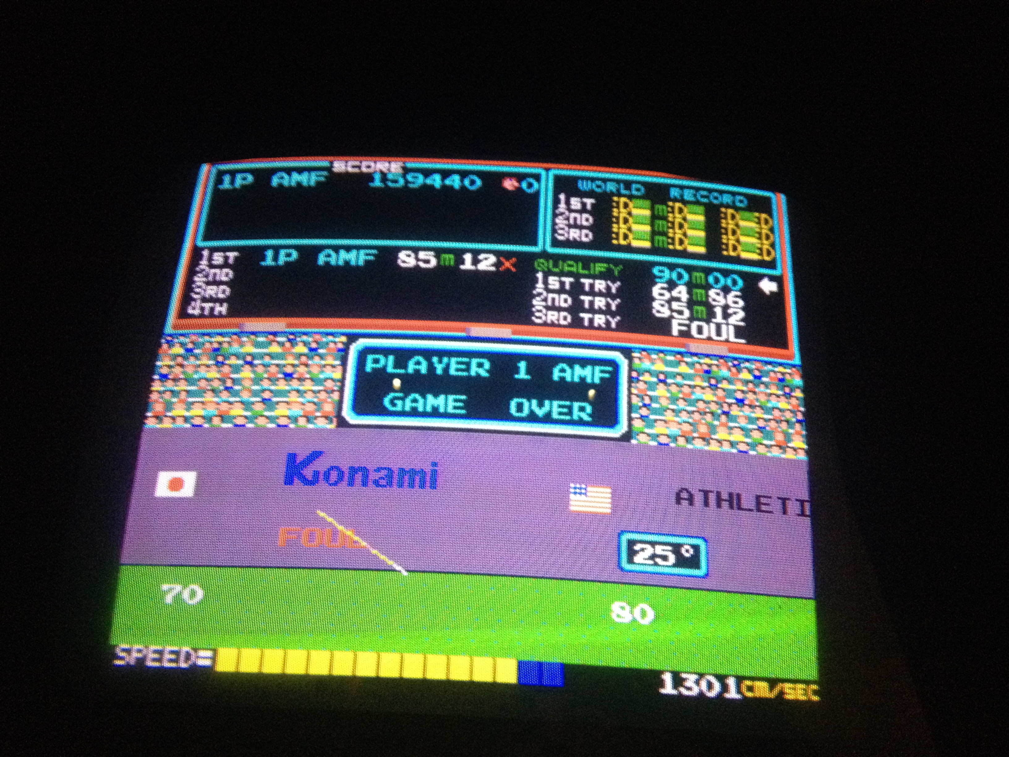 FosterAMF: Track and Field (Arcade) 159,440 points on 2014-11-26 14:10:33