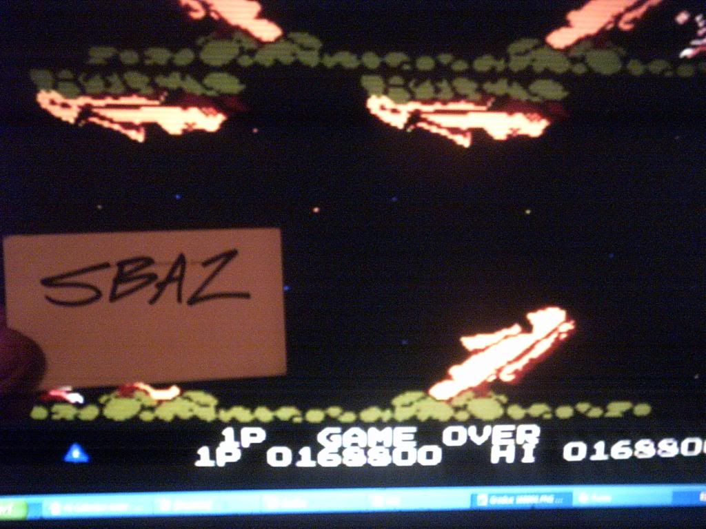 Gradius 168,800 points