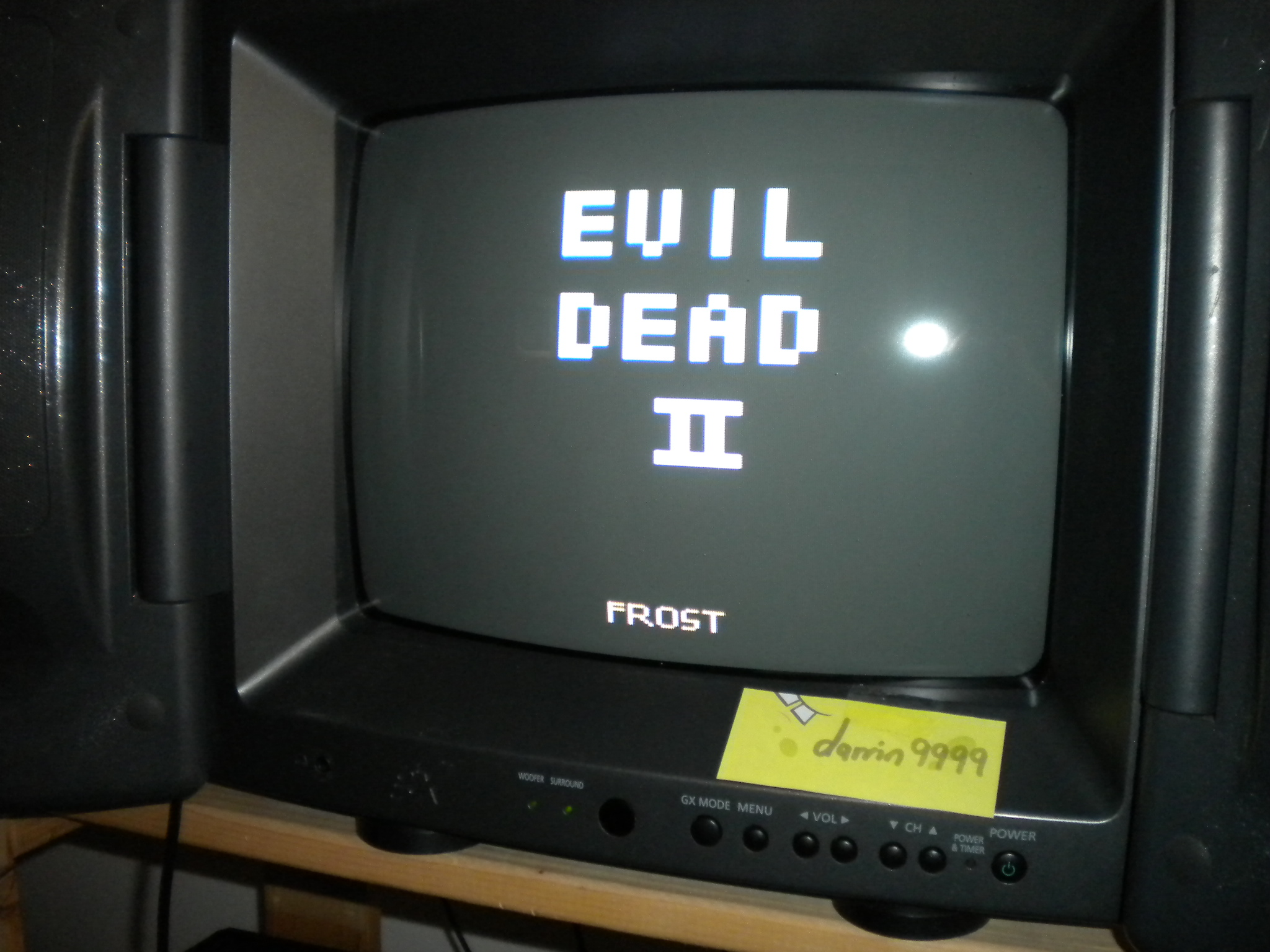 Evil Dead 2 9,000 points