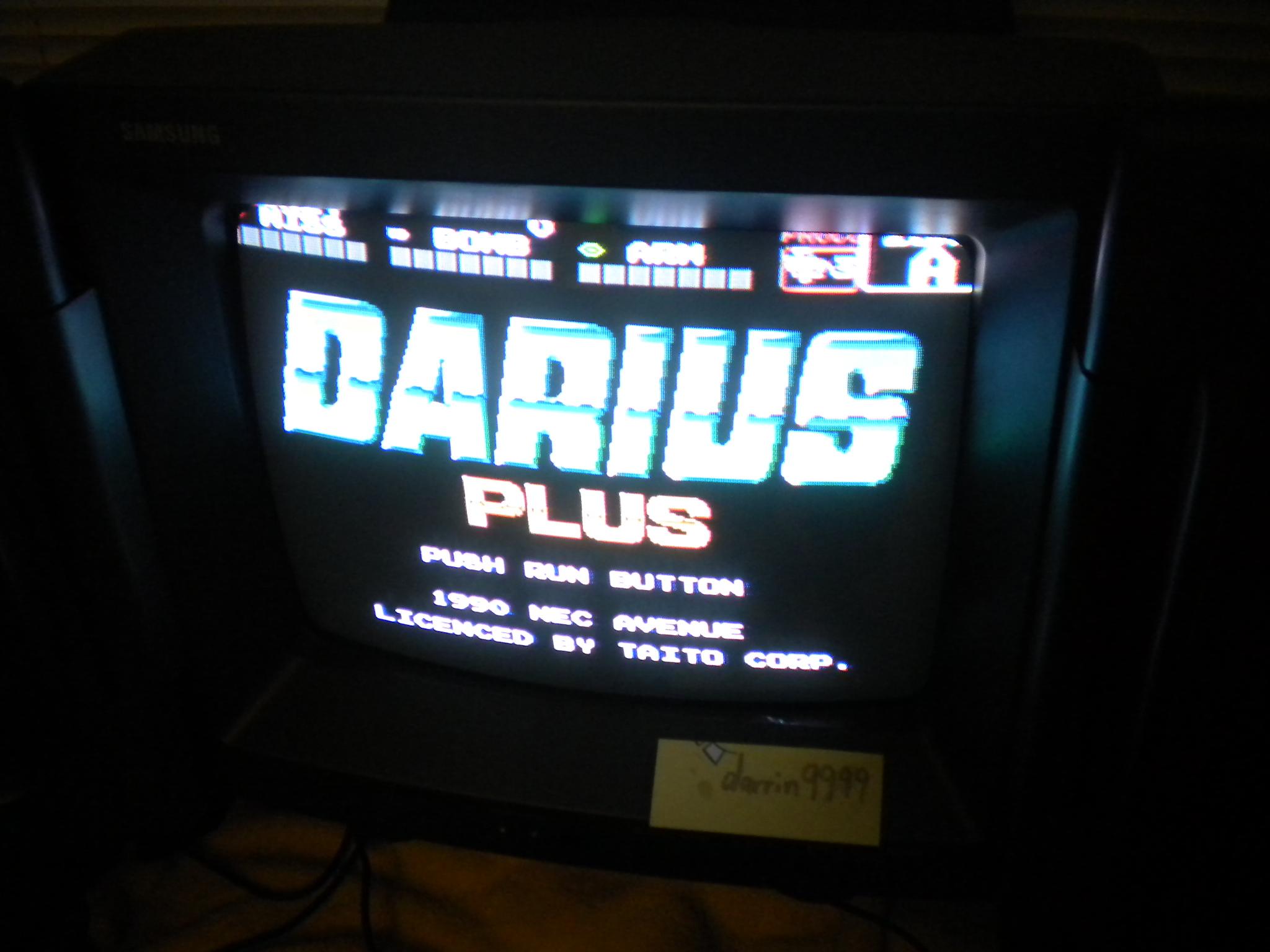 Darius Plus 135,700 points