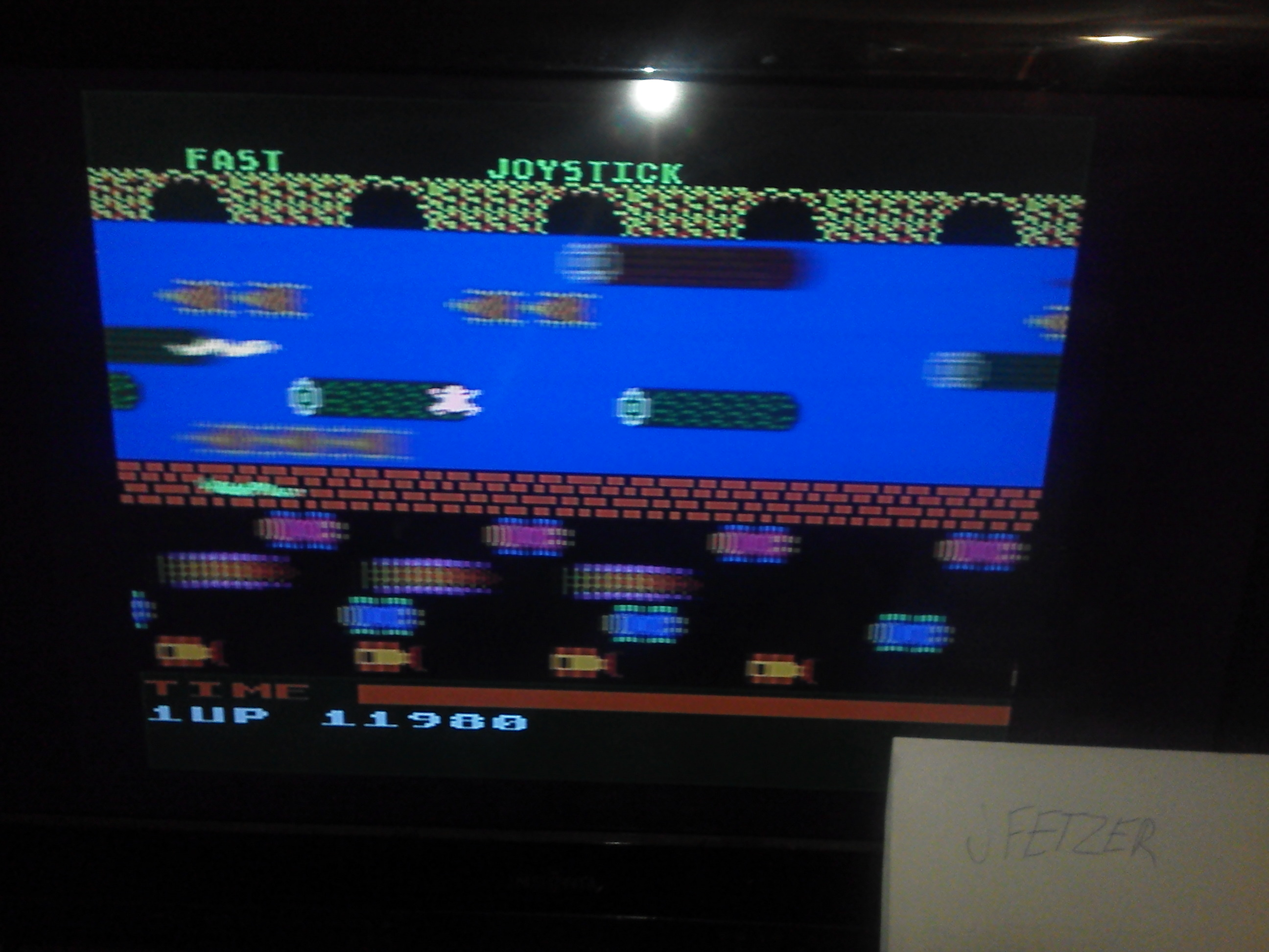 jfetzer: Frogger (Atari 5200 Emulated) 11,980 points on 2014-11-27 08:48:12