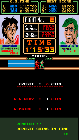 BarryBloso: Super Punch-Out!! [spnchout] (Arcade Emulated / M.A.M.E.) 23,350 points on 2014-11-29 03:18:07