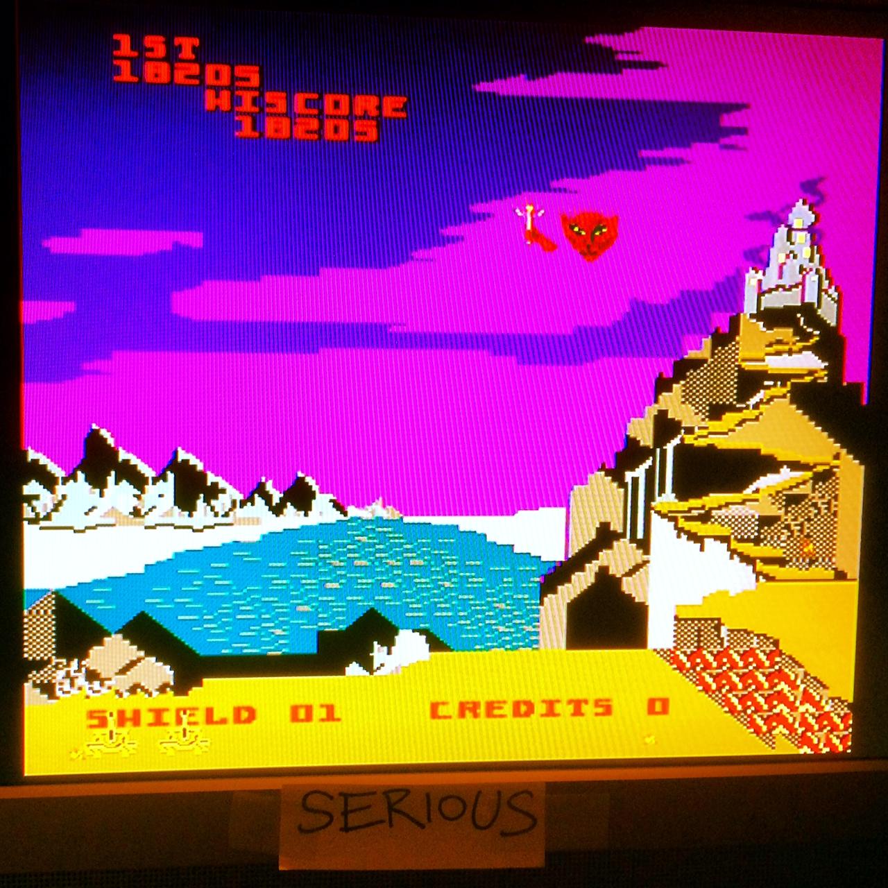 Serious: Midway Arcade Treasures: Satan