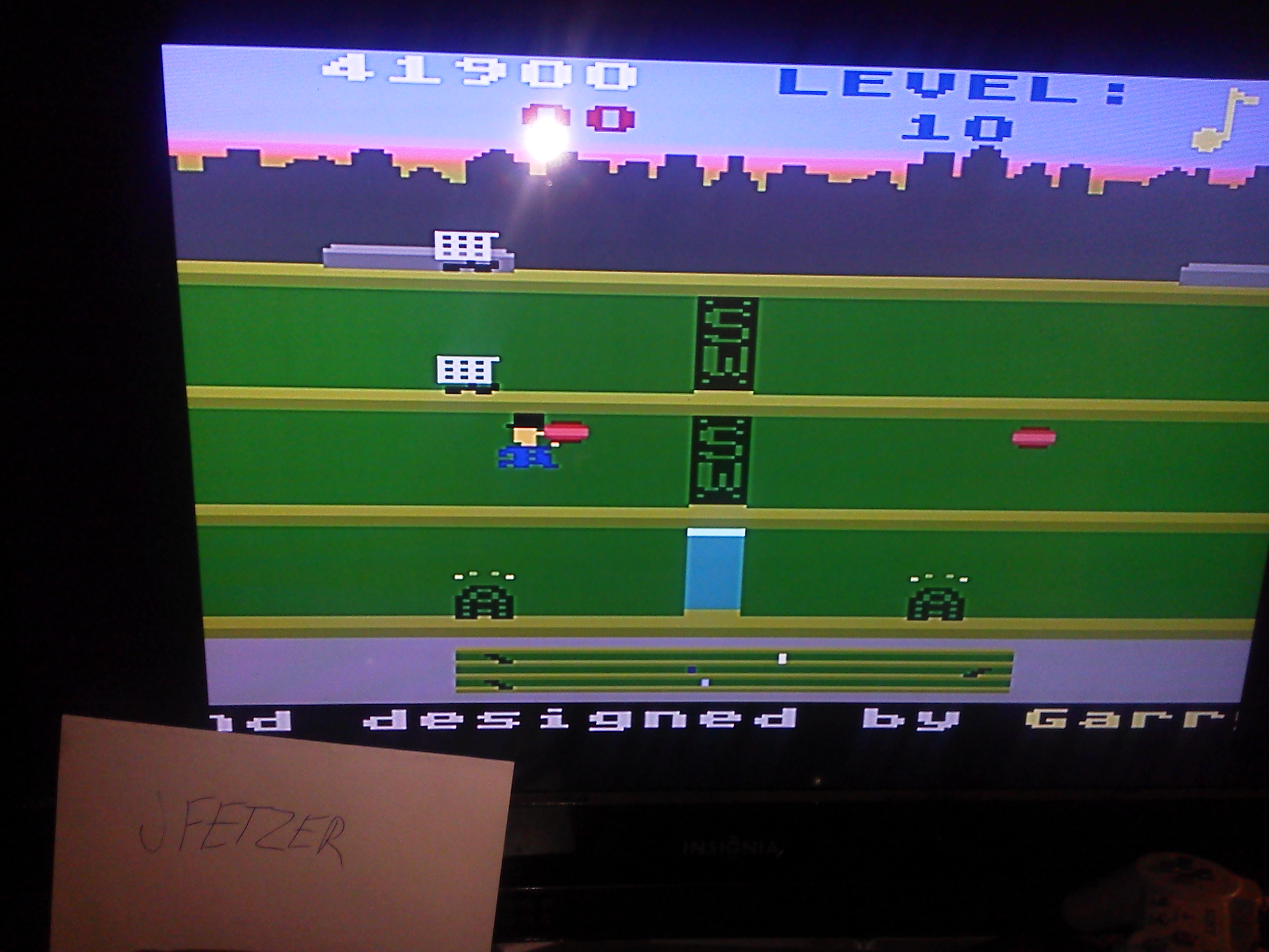 jfetzer: Keystone Kapers: Skill 1 (Atari 5200 Emulated) 41,900 points on 2014-11-29 20:17:13