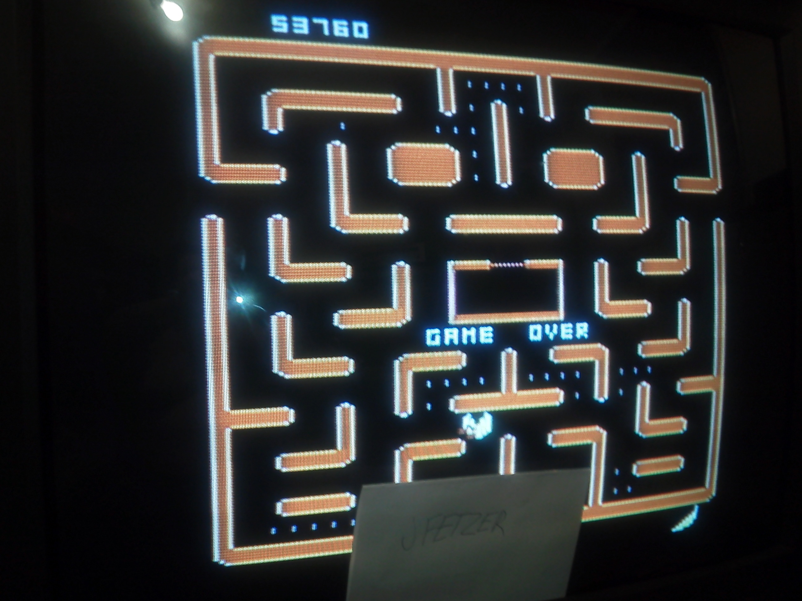 jfetzer: Ms. Pac-Man: Cherries Start (Atari 5200) 53,760 points on 2014-11-29 20:57:40
