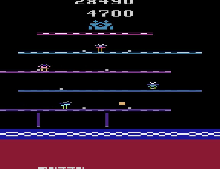 uNi73: Open Sesame (Atari 2600 Emulated) 28,490 points on 2014-11-30 08:29:07