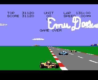 EmuDan: Pole Position 2: Seaside (Atari 7800 Emulated) 31,120 points on 2014-11-30 11:37:12