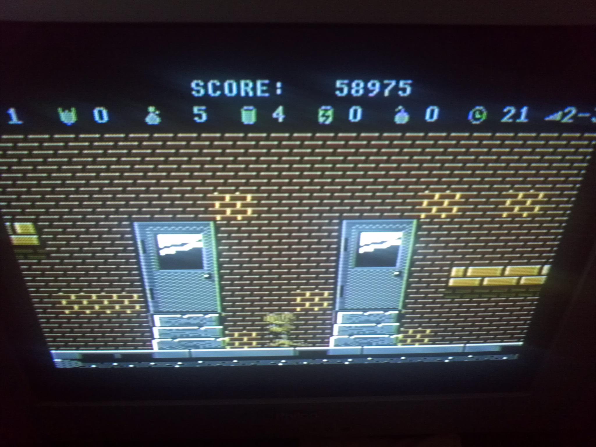 Liduario: Scrapyard Dog (Atari 7800) 58,975 points on 2014-11-30 12:02:26