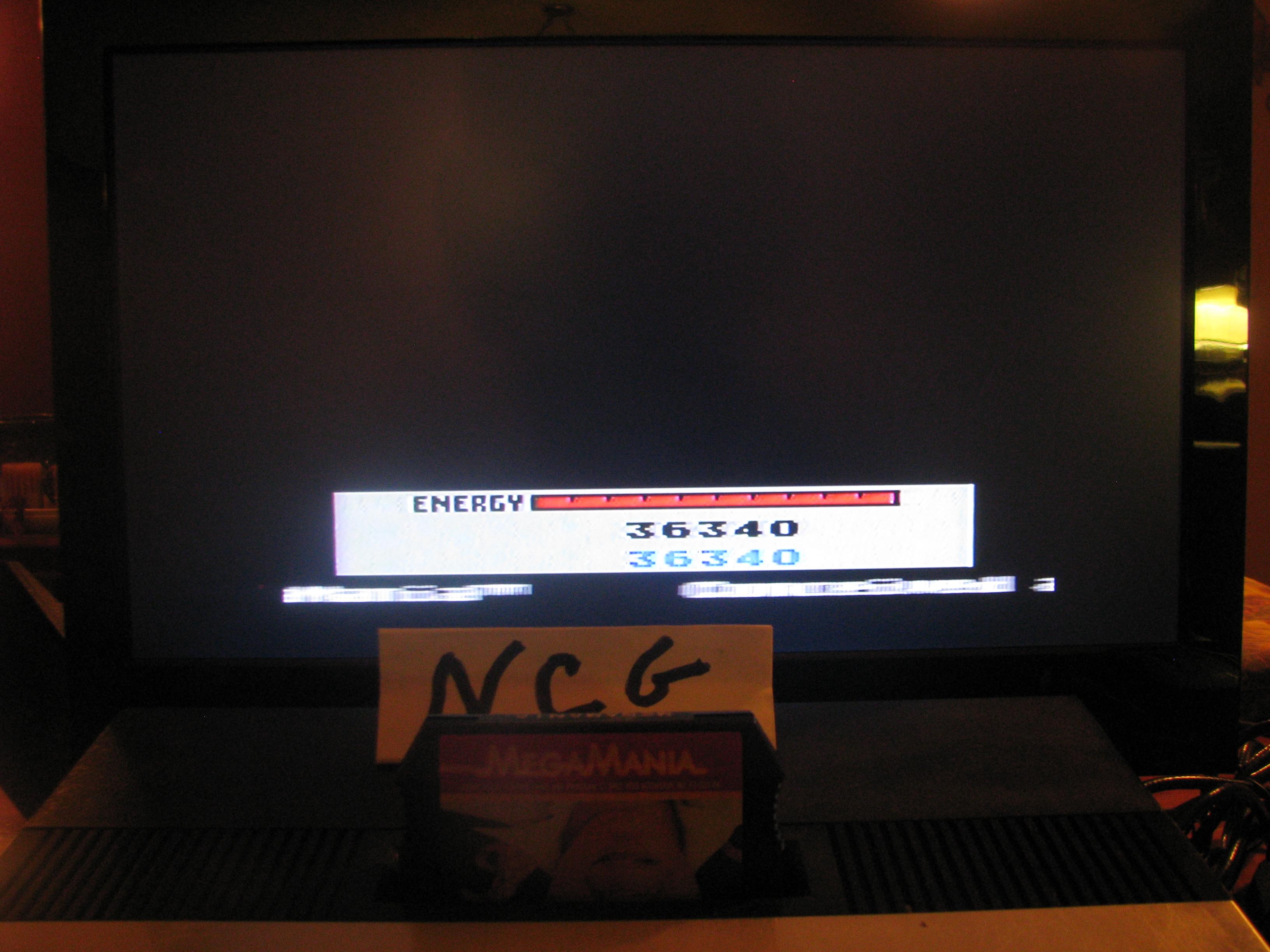 NorthCoastGamer: Megamania [Any Missile Type] (Atari 5200) 36,340 points on 2014-11-30 18:38:28