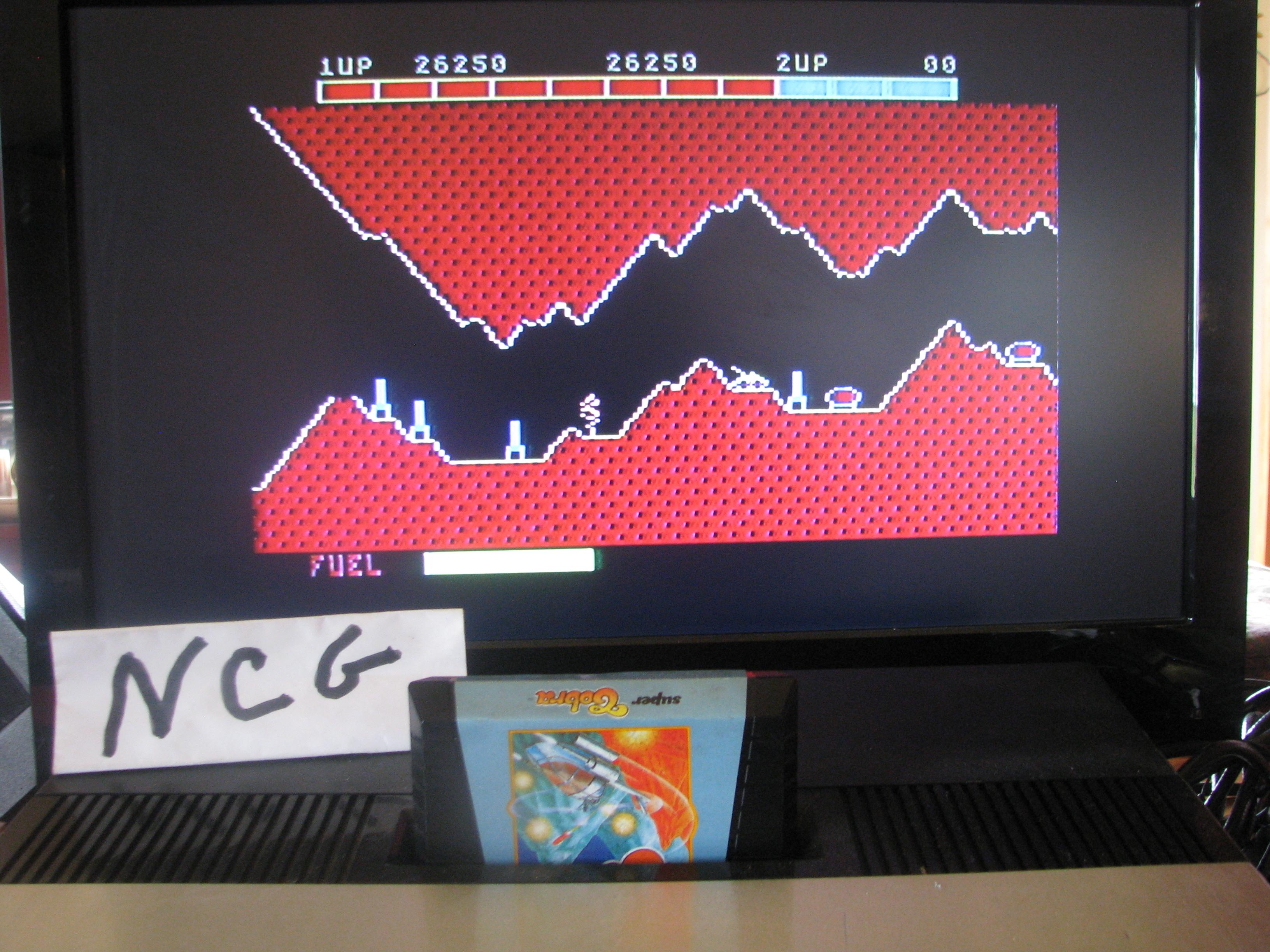 NorthCoastGamer: Super Cobra (Atari 5200) 26,250 points on 2014-11-30 18:45:19