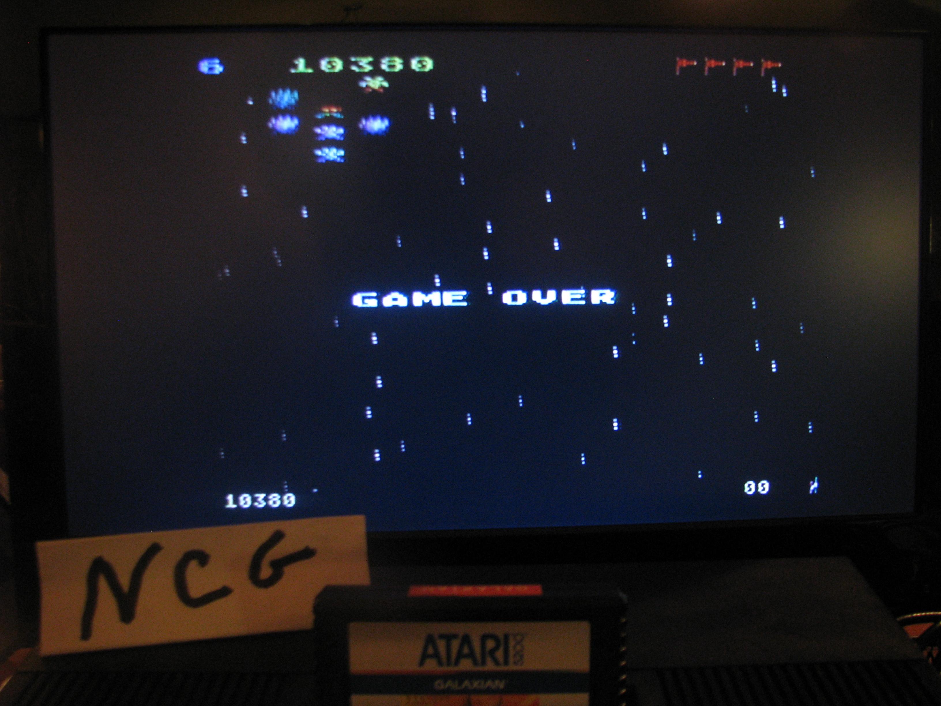 NorthCoastGamer: Galaxian: Skill Level 6 (Atari 5200) 10,380 points on 2014-11-30 18:47:45