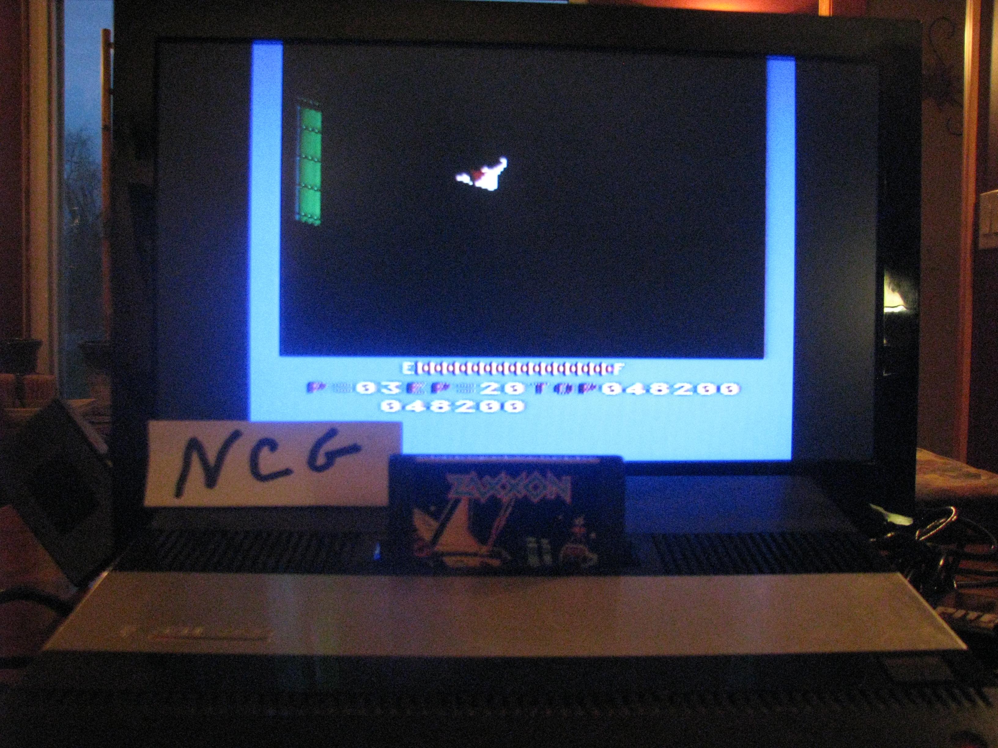 NorthCoastGamer: Zaxxon (Atari 5200) 48,200 points on 2014-11-30 18:52:45