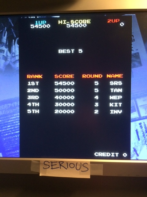 Taito Legends 2:  Majestic Twelve [Normal] 54,500 points
