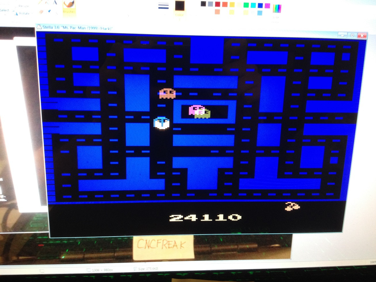 Pac-Man Arcade 24,110 points