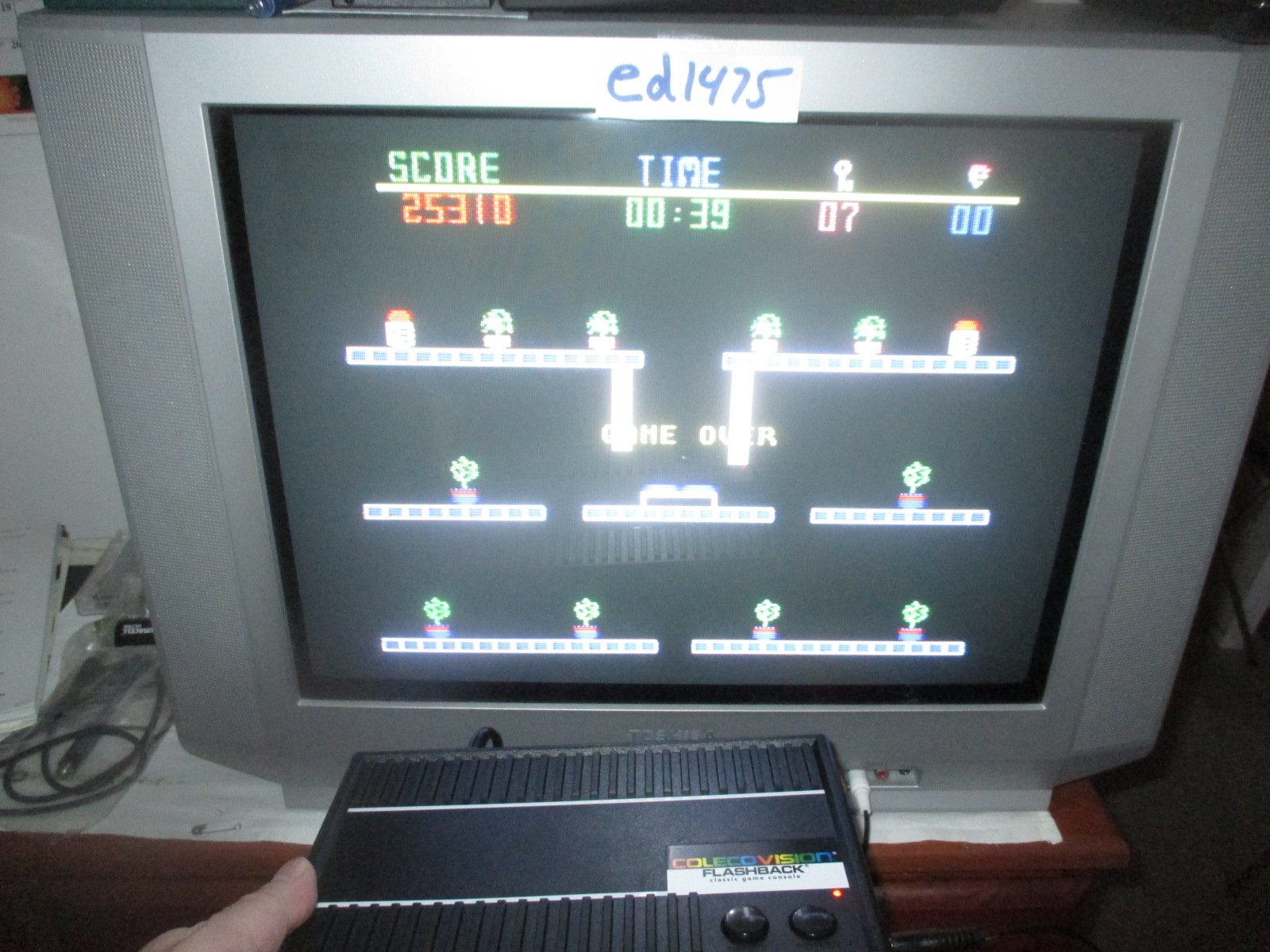 ed1475: The Heist (Colecovision Flashback) 25,310 points on 2014-12-03 18:51:01