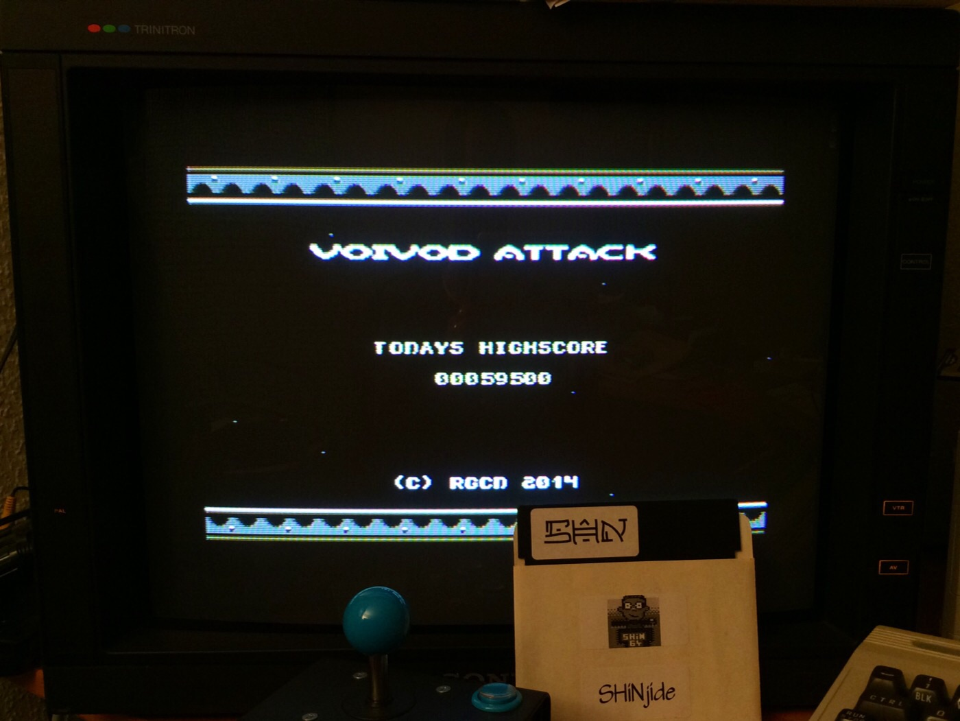 SHiNjide: Voivod Attack (Commodore 64) 59,500 points on 2014-12-04 01:01:39