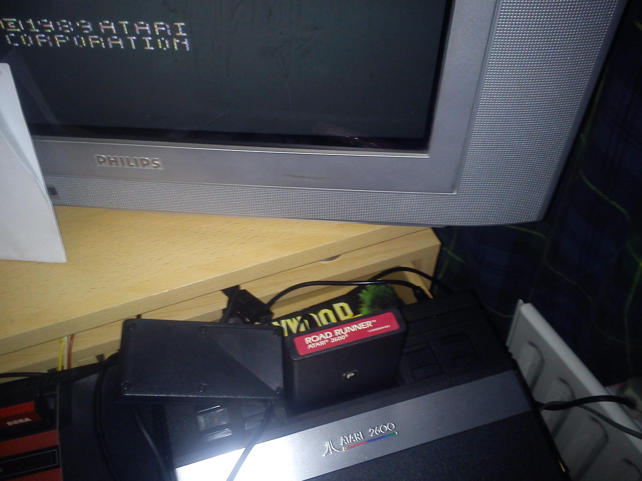 Fr0st: Road Runner (Atari 2600 Novice/B) 87,200 points on 2014-12-04 14:49:34