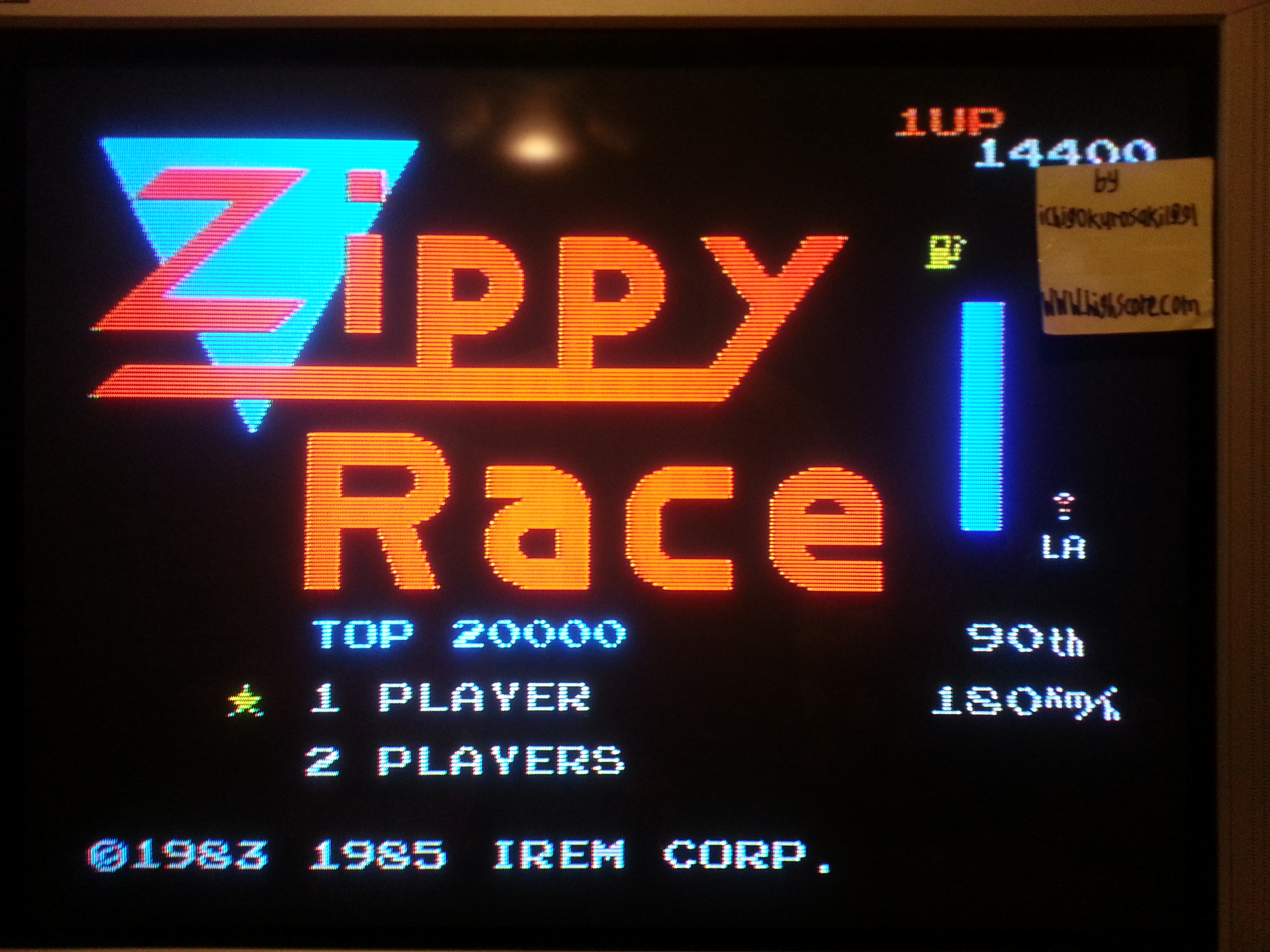 Zippy Race / MotoRace U.S.A. 14,400 points