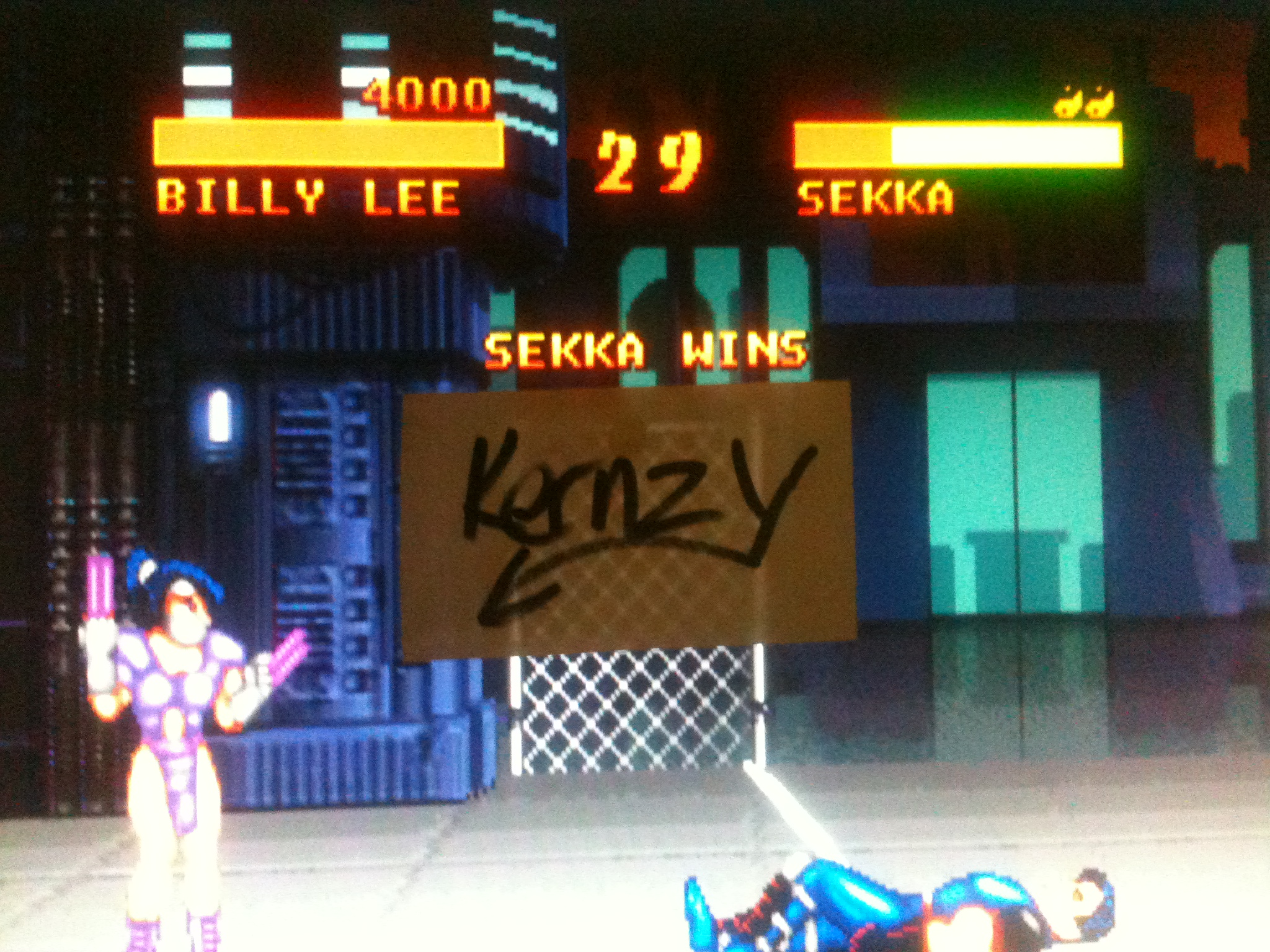 kernzy: Double Dragon V (Atari Jaguar Emulated) 4,000 points on 2014-12-05 04:27:17