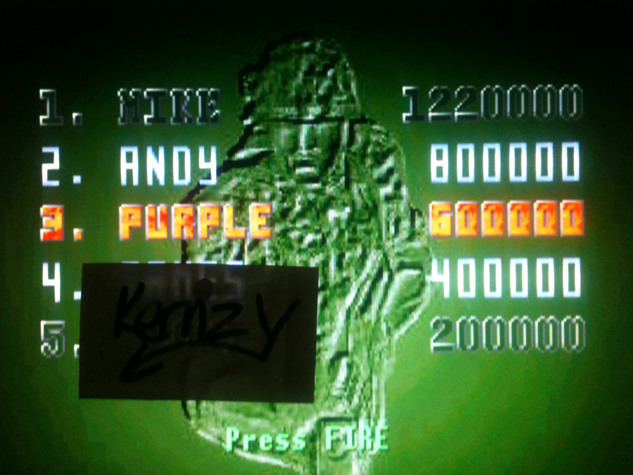 kernzy: Alien vs Predator: Marine Mode (Atari Jaguar Emulated) 600,000 points on 2014-12-05 06:01:46