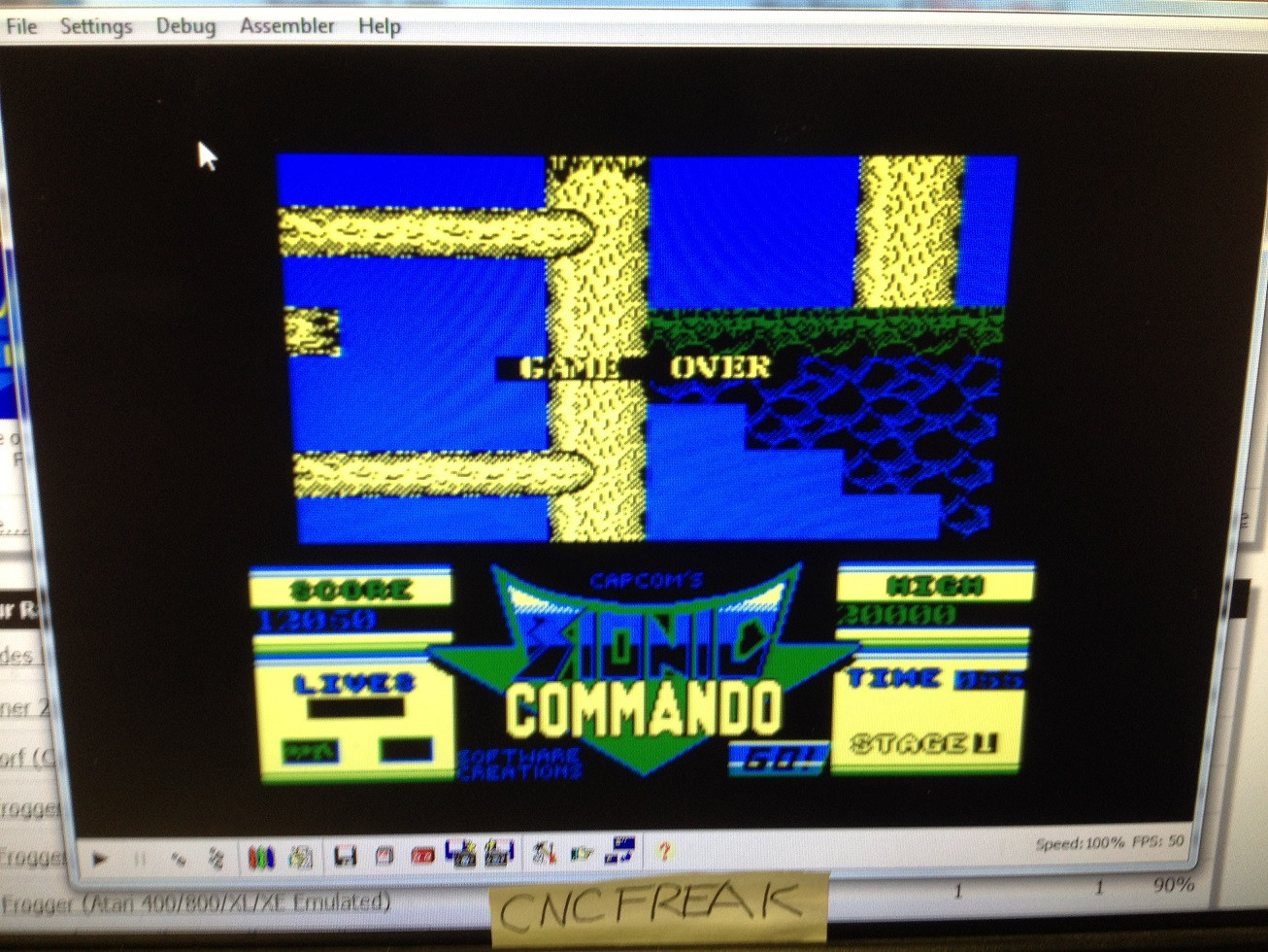 Bionic Commando 12,050 points