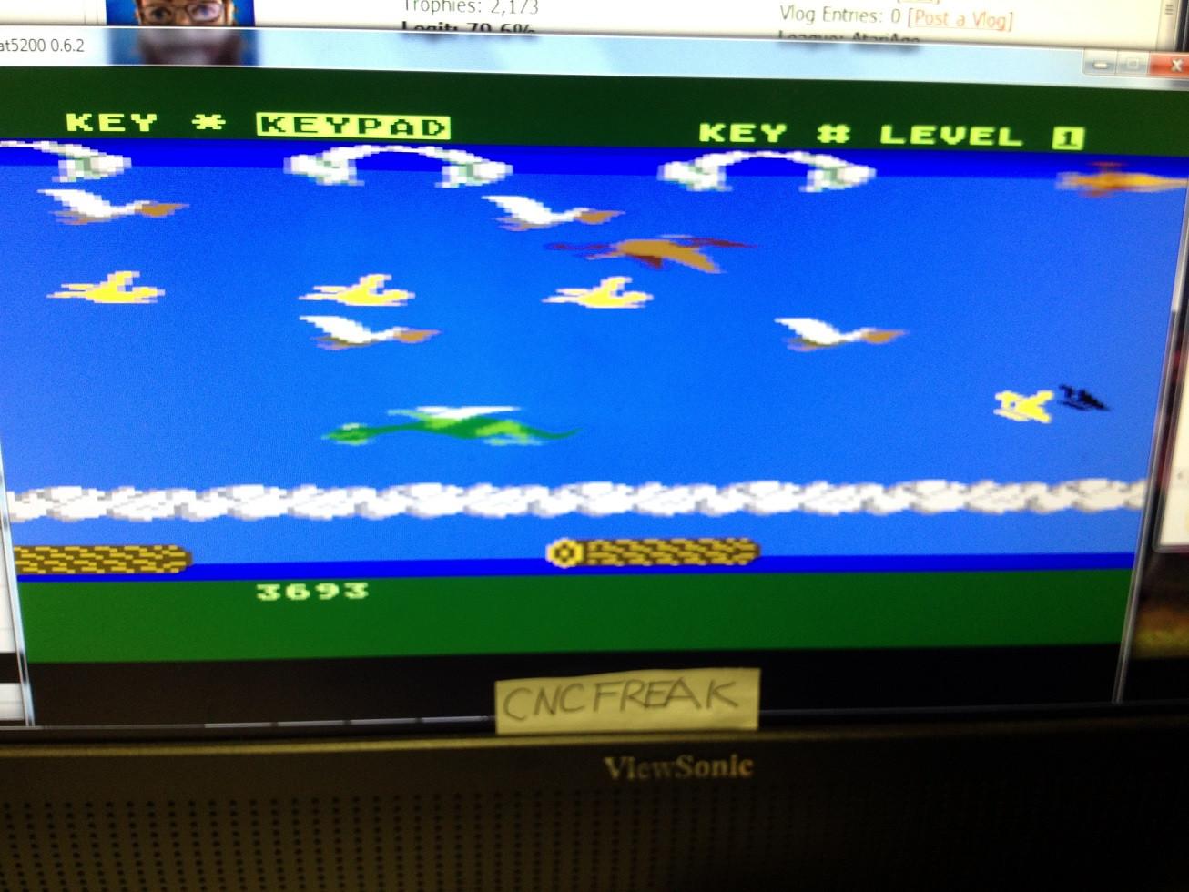 Frogger II: Threedeep 3,693 points