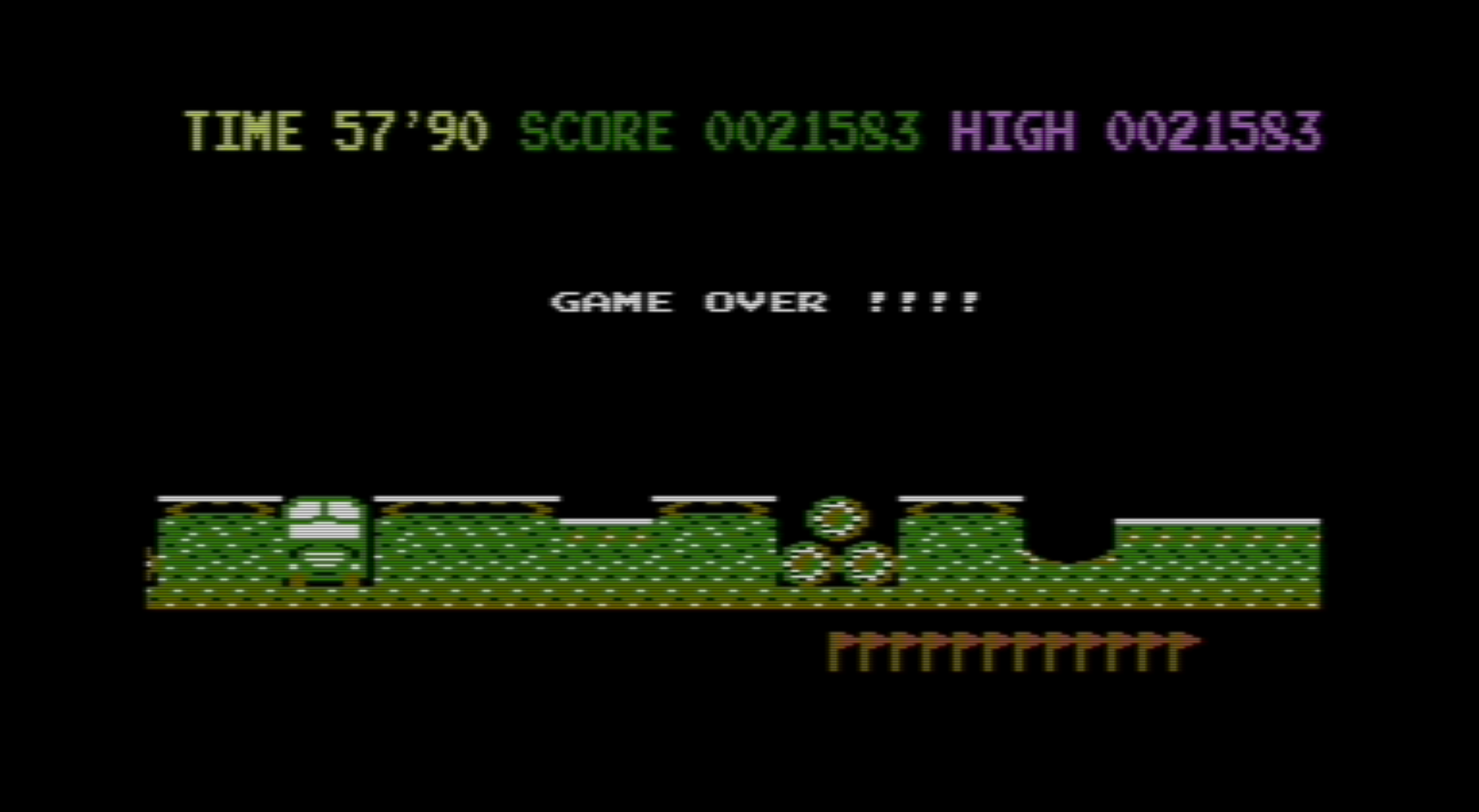 lenny2571: Kikstart (Commodore 16/Plus4 Emulated) 21,583 points on 2014-12-08 12:41:49