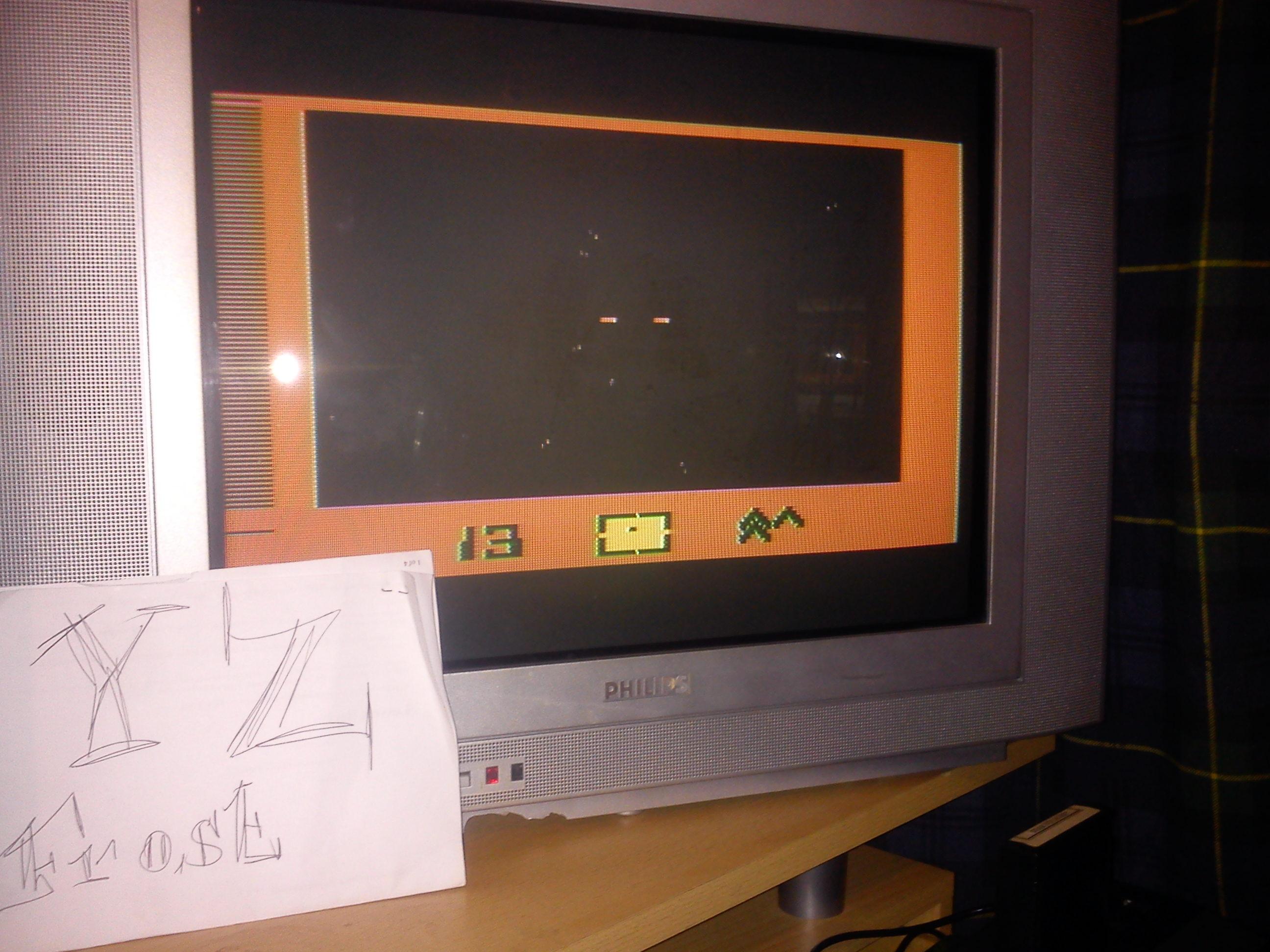 Fr0st: Star Voyager (Atari 2600 Novice/B) 13 points on 2014-12-09 14:25:21