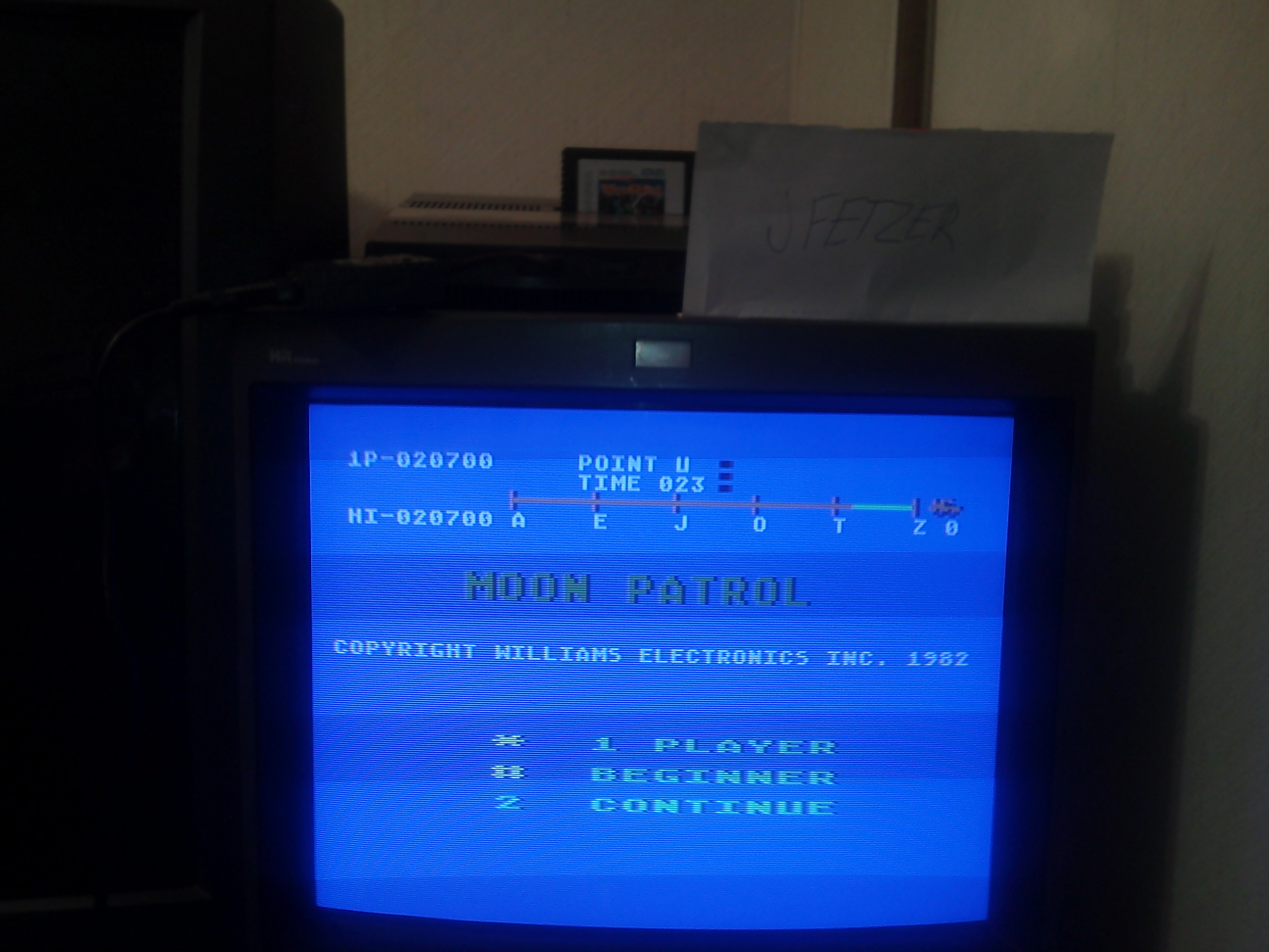 jfetzer: Moon Patrol: Beginner (Atari 5200) 20,700 points on 2014-12-09 17:48:38