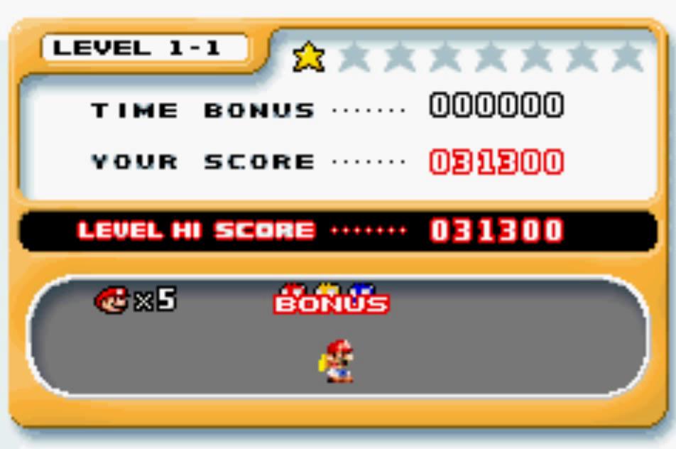 Mario Vs. Donkey Kong: Level 1-1 31,300 points