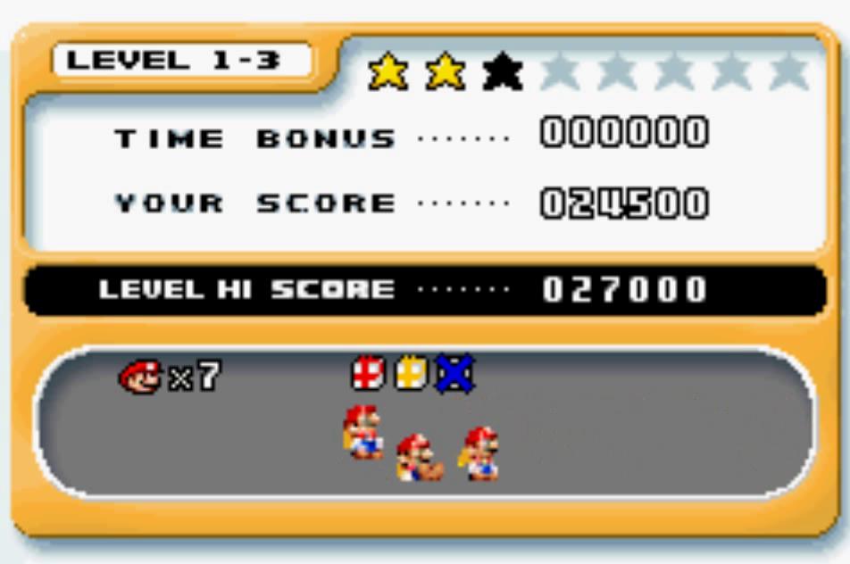 Mario Vs. Donkey Kong: Level 1-3 24,500 points
