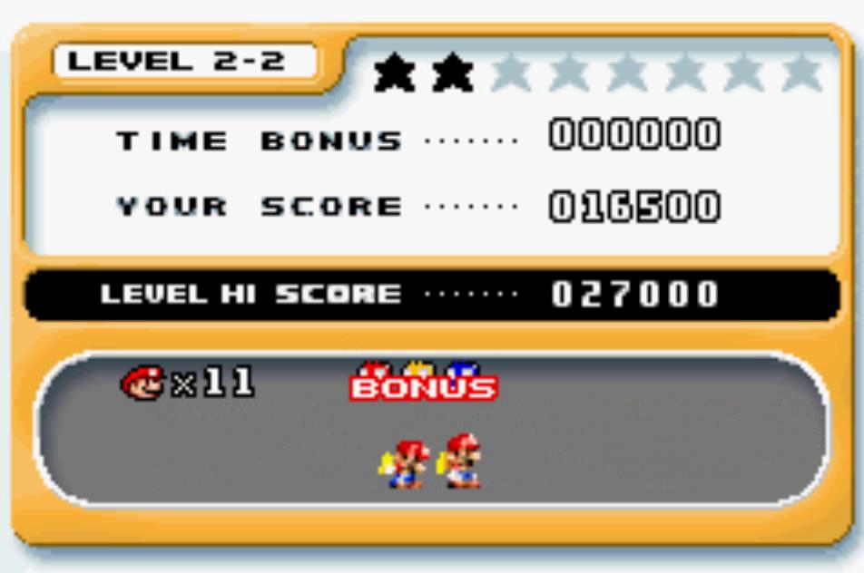 Mario Vs. Donkey Kong: Level 2-2 16,500 points