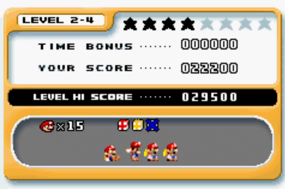 Mario Vs. Donkey Kong: Level 2-4 22,200 points