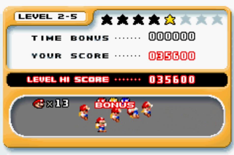 uNi73: Mario Vs. Donkey Kong: Level 2-5 (GBA Emulated) 35,600 points on 2014-12-09 20:54:09