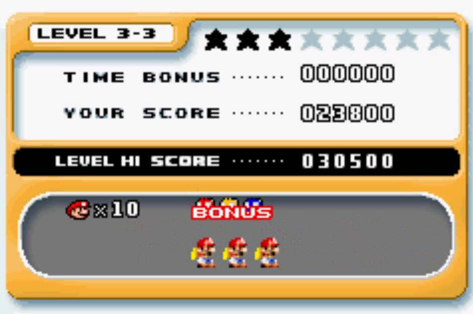 Mario Vs. Donkey Kong: Level 3-3 23,800 points