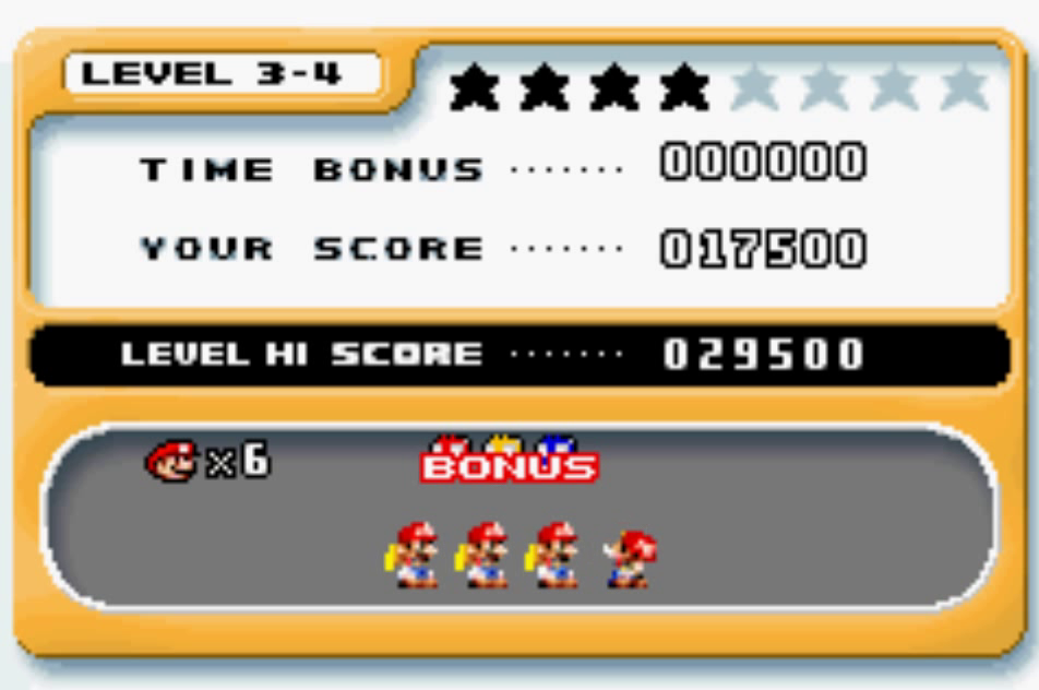 uNi73: Mario Vs. Donkey Kong: Level 3-4 (GBA Emulated) 17,500 points on 2014-12-09 21:04:20