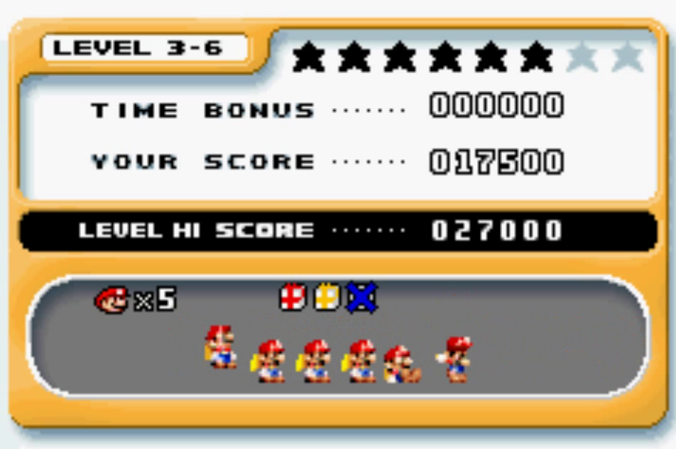 Mario Vs. Donkey Kong: Level 3-6 17,500 points