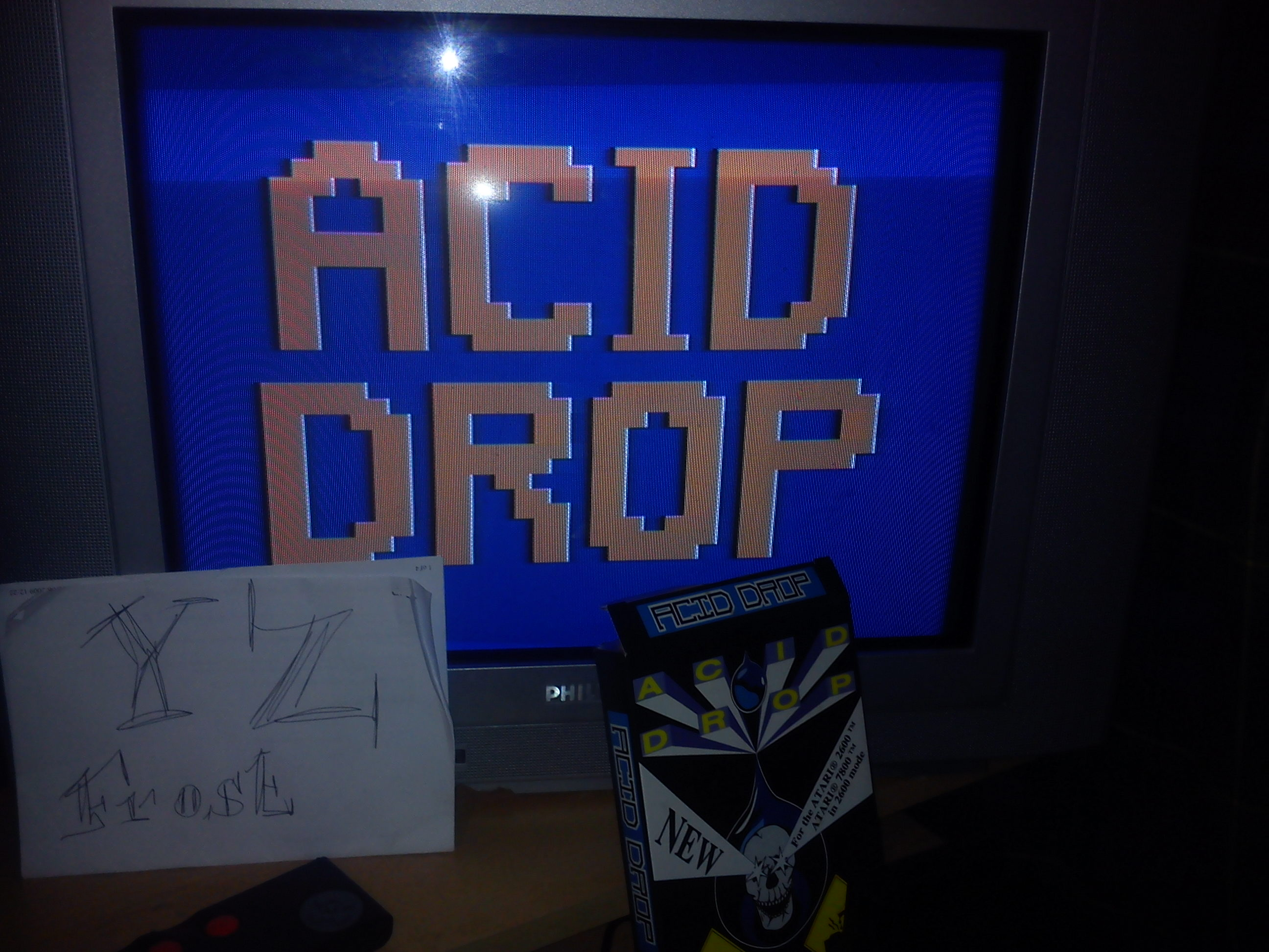Acid Drop 136,200 points